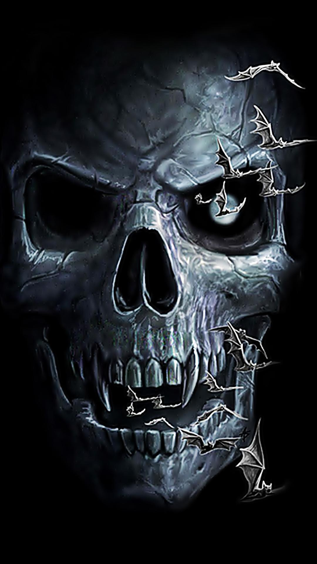 Android Amoled Skull Wallpapers - Wallpaper Cave