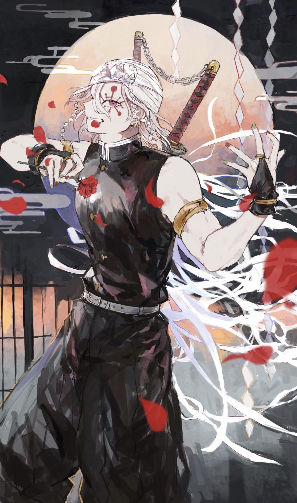 Tengen Uzui Kimetsu No Yaiba Wallpapers Wallpaper Cave Every uzui tengen's line || demon slayer: tengen uzui kimetsu no yaiba wallpapers