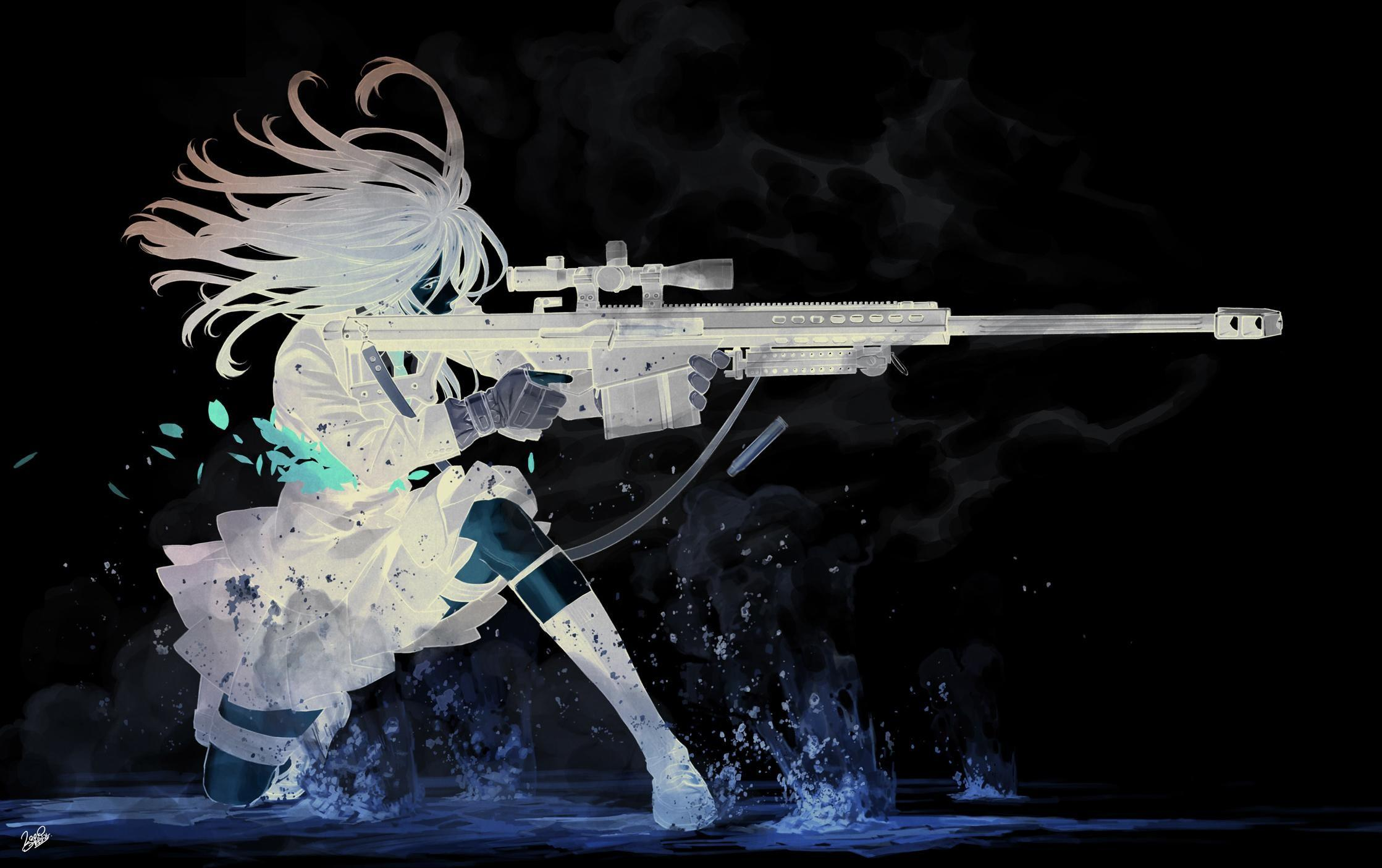 Sniper Anime Wallpapers - Wallpaper Cave
