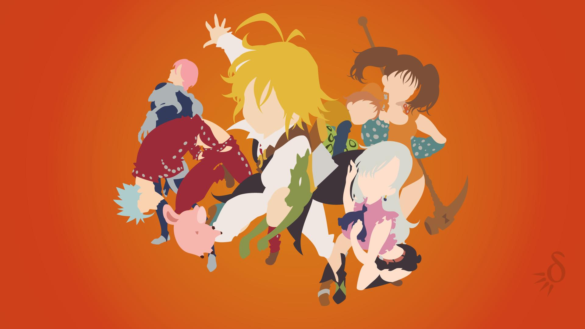 Seven Deadly Sins Minimalist Wallpapers Wallpaper Cave