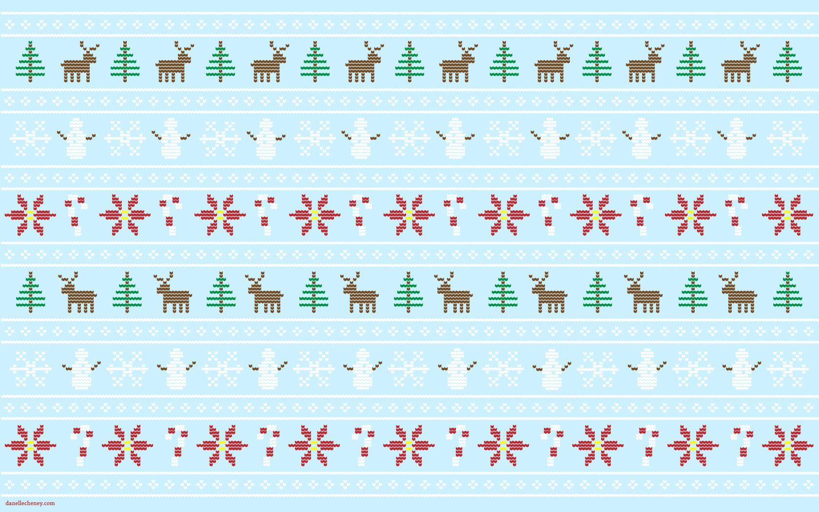 assorted-color baubles on white surface christmas sweater zoom background