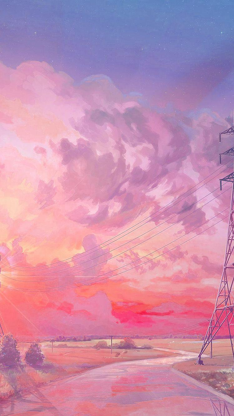 Anime Aesthetic Pink Wallpapers - Wallpaper Cave