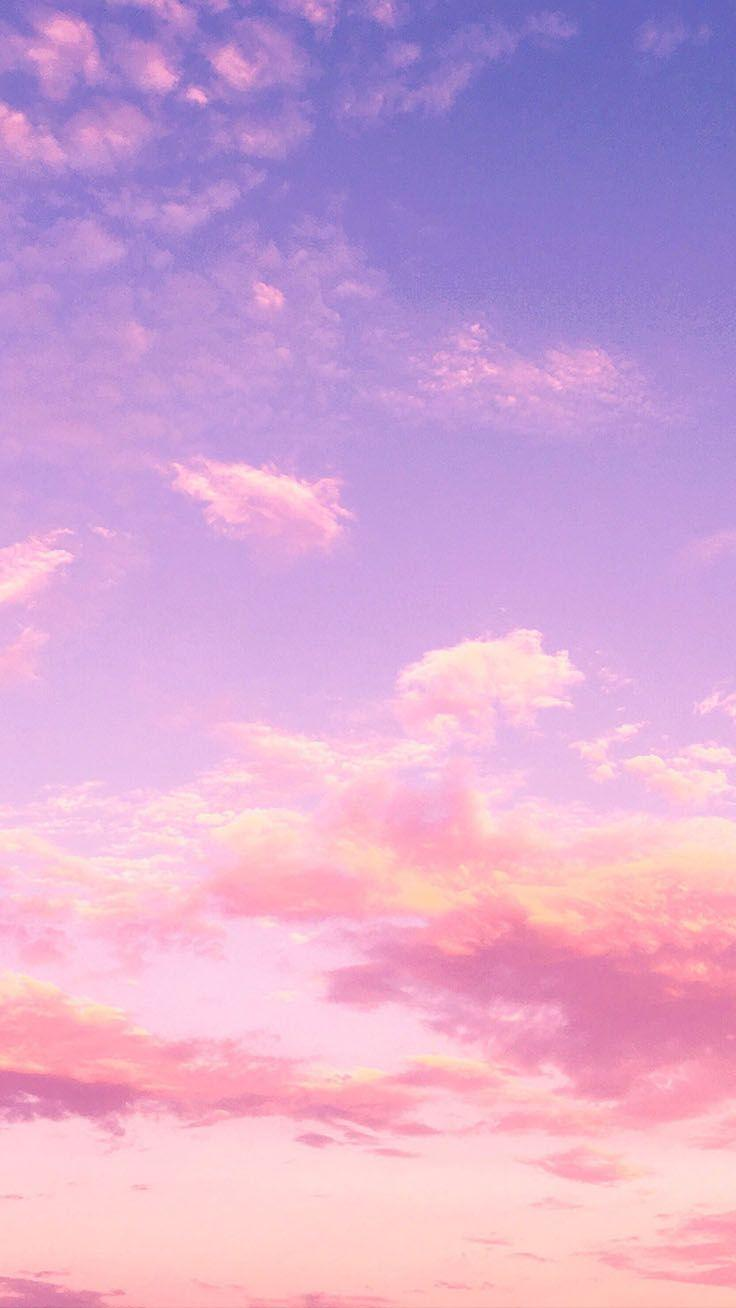 Light Purple Sky Aesthetic Phone Wallpapers