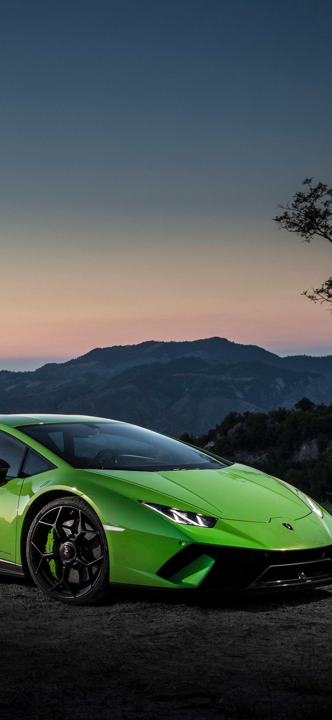 Green Lamborghini Huracan 4k Iphone Wallpapers Wallpaper Cave
