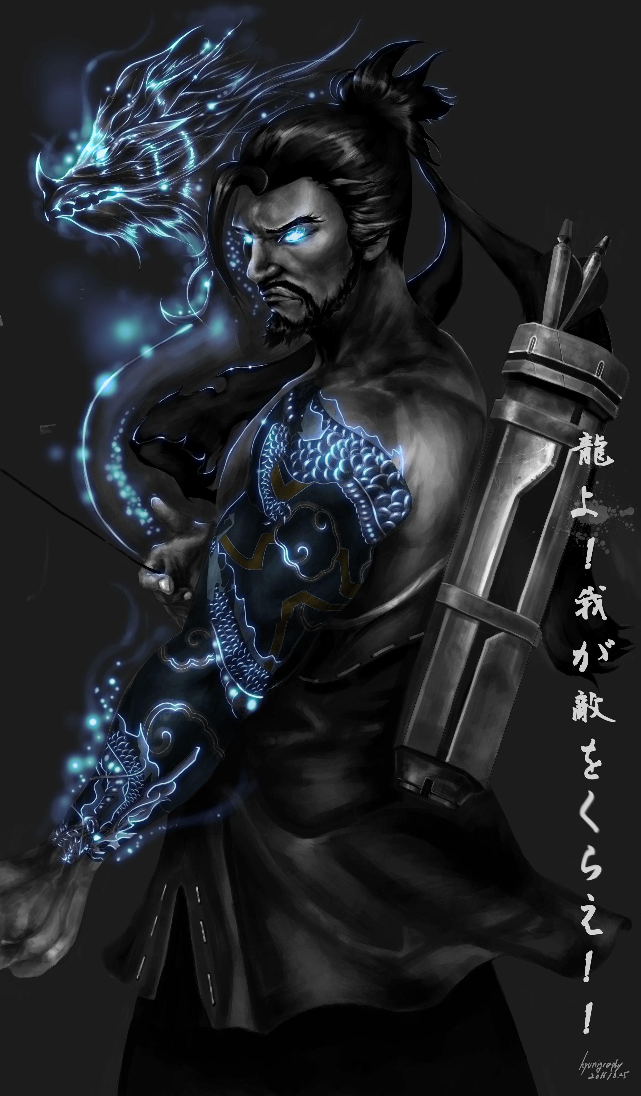 Overwatch Hanzo Android Wallpapers   Wallpaper Cave