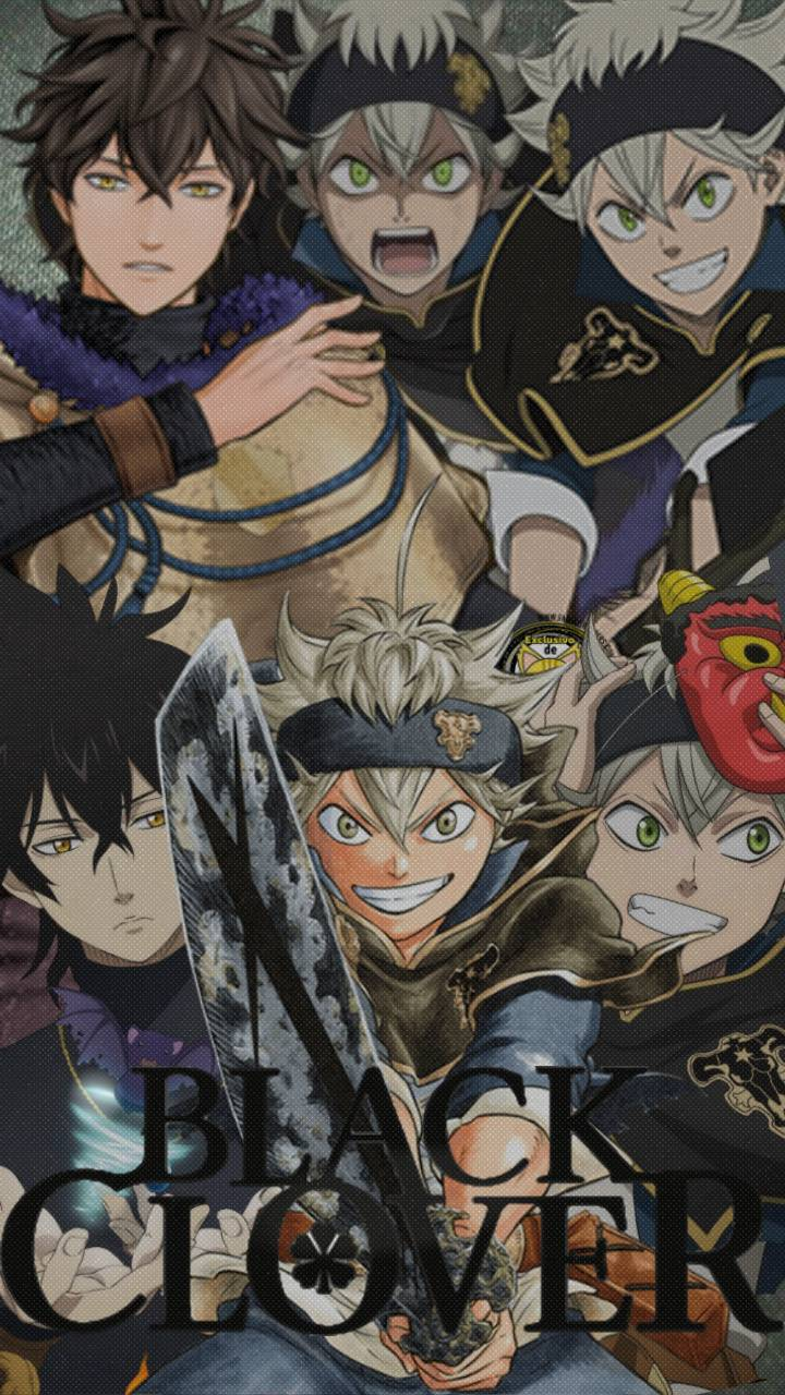 Yuno Black Clover Iphone Wallpapers Wallpaper Cave