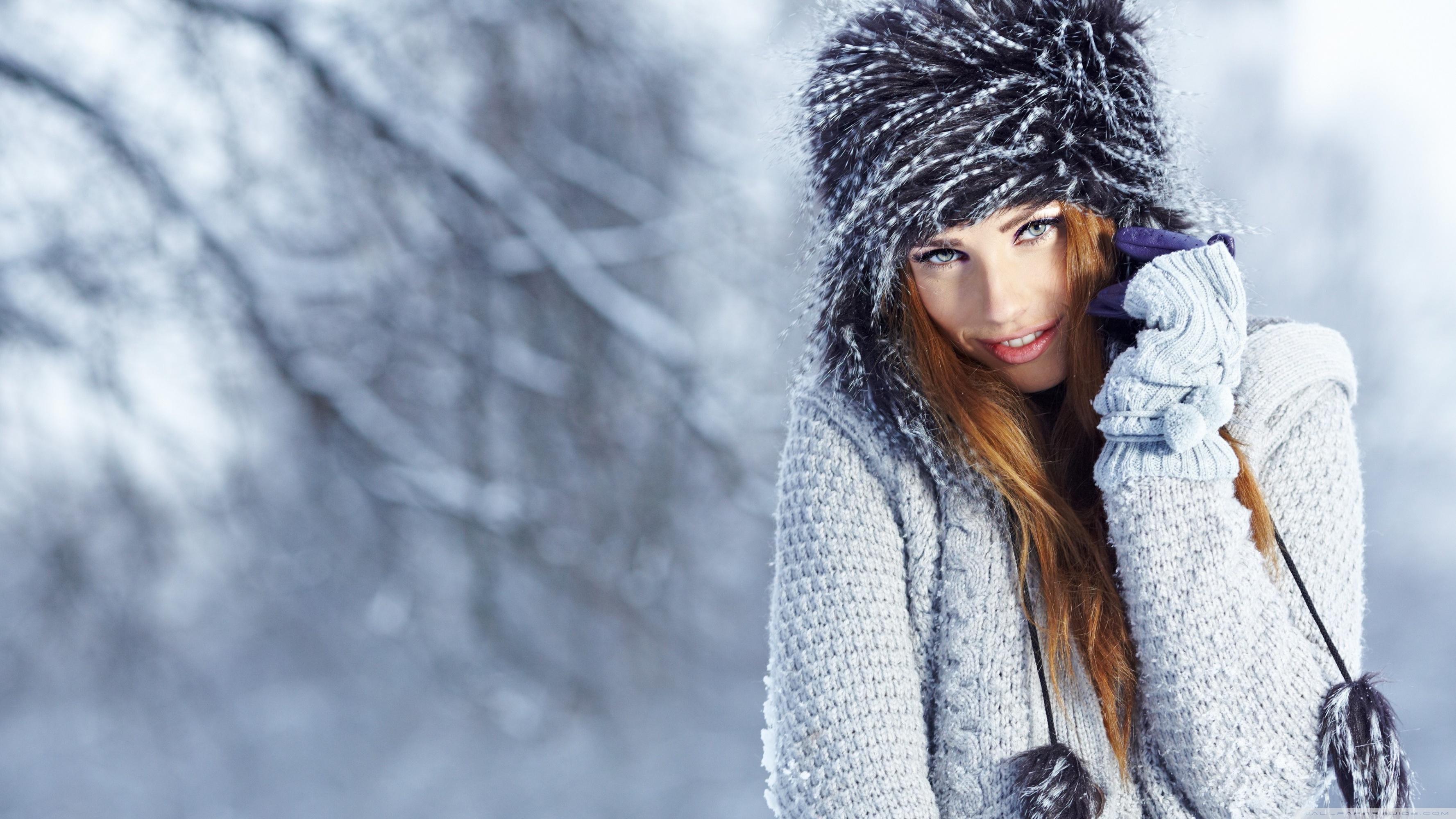 Girls Winter Pics Wallpapers Wallpaper Cave