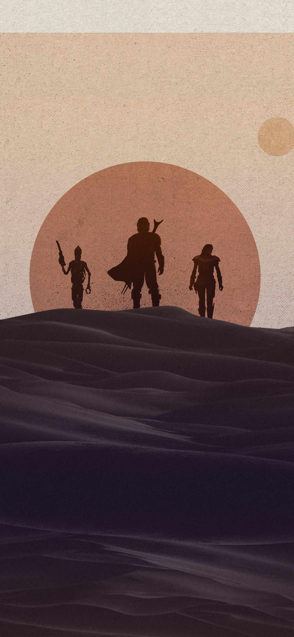 The Mandalorian Android Wallpapers Wallpaper Cave