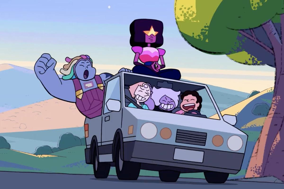 Steven Universe Future's opening sequence hides a lot of