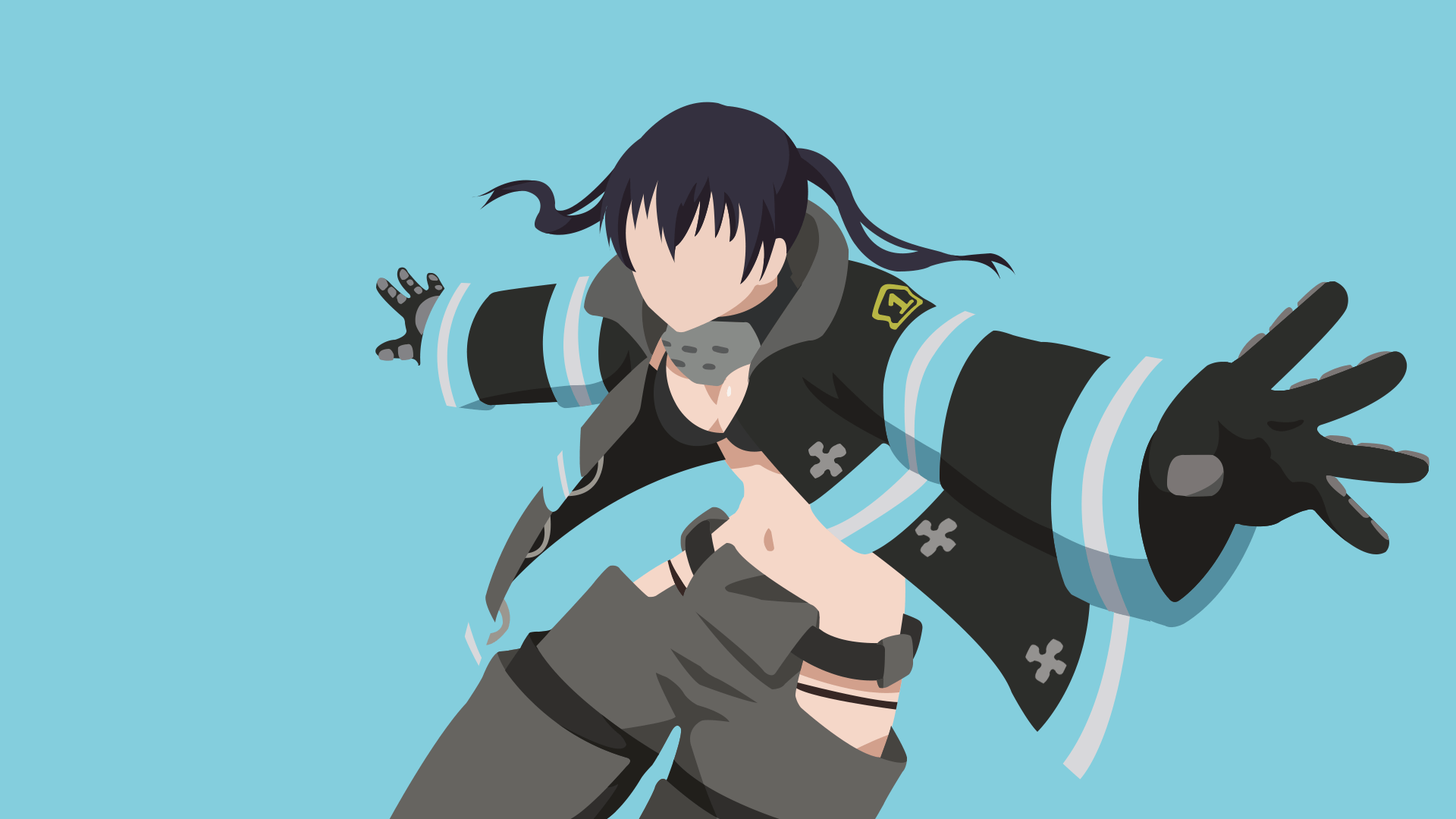 Fire Force Minimalist Wallpapers Wallpaper Cave Check out this fantastic collection of fire force wallpapers, with 38 fire force background images for your desktop, phone or tablet. fire force minimalist wallpapers