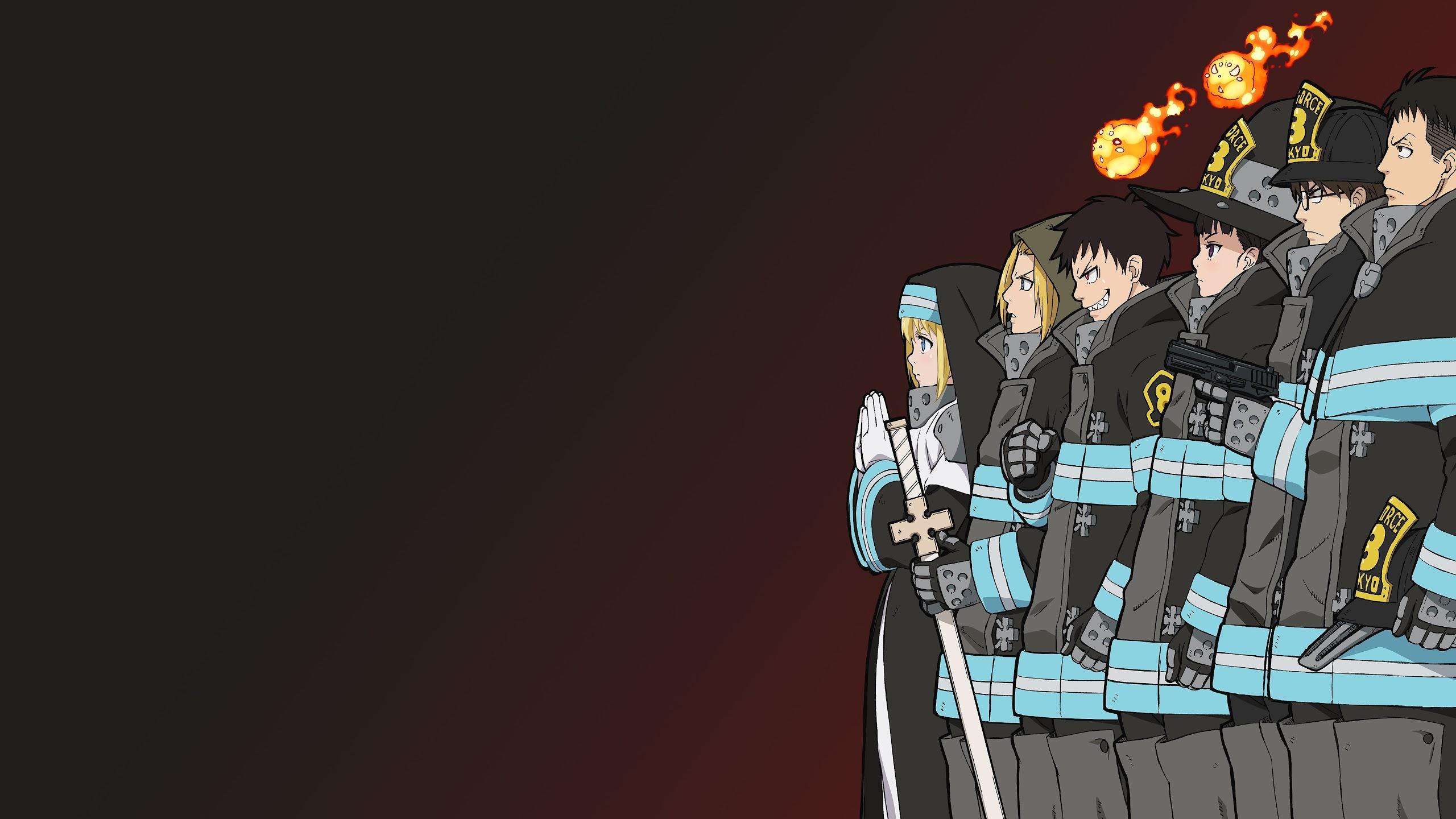 Fire Force Desktop Wallpapers Wallpaper Cave We paid a lot of attention to the details to make your browsing process more comfortable. fire force desktop wallpapers