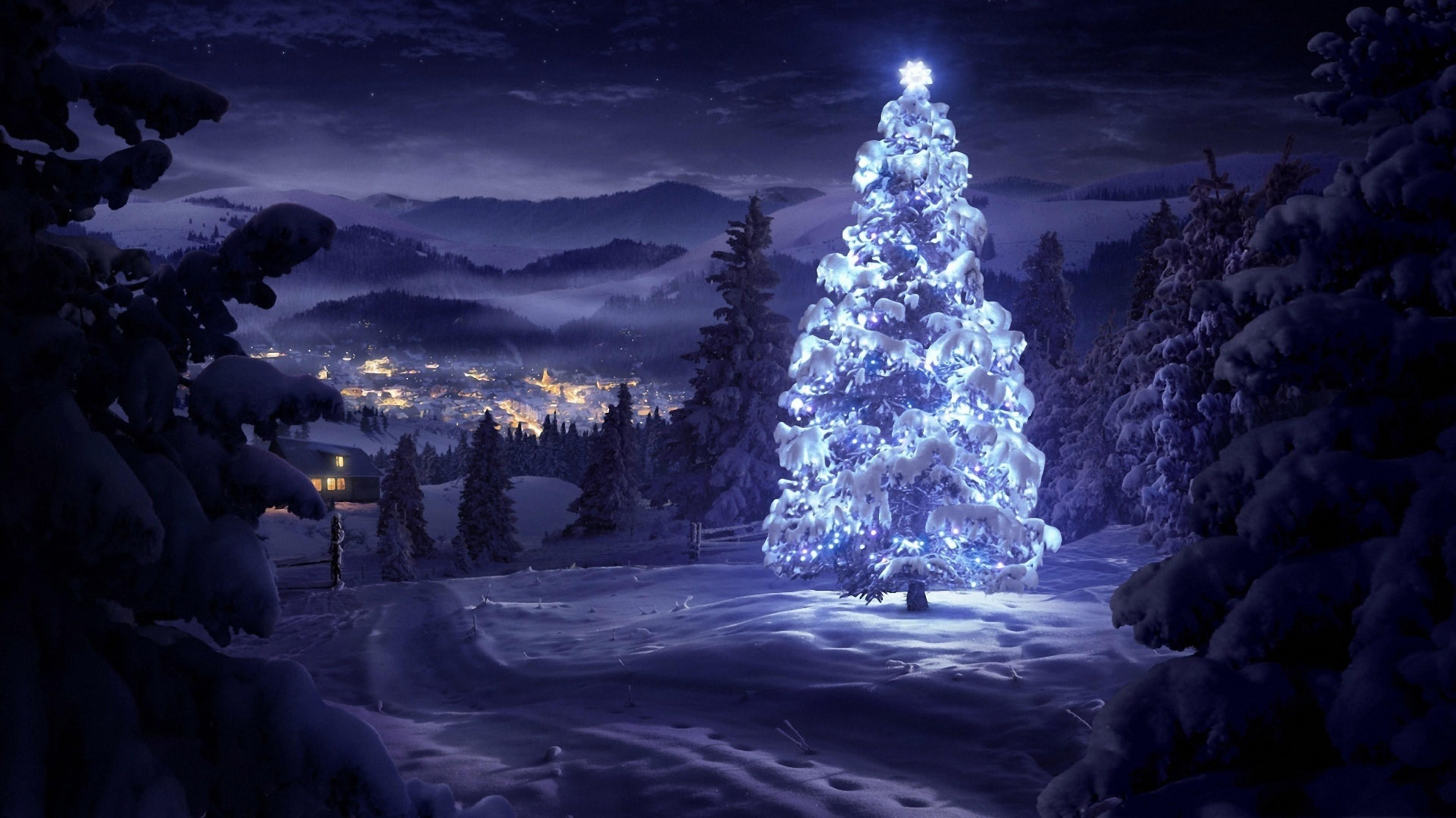 Download Christmas Wallpaper 4K