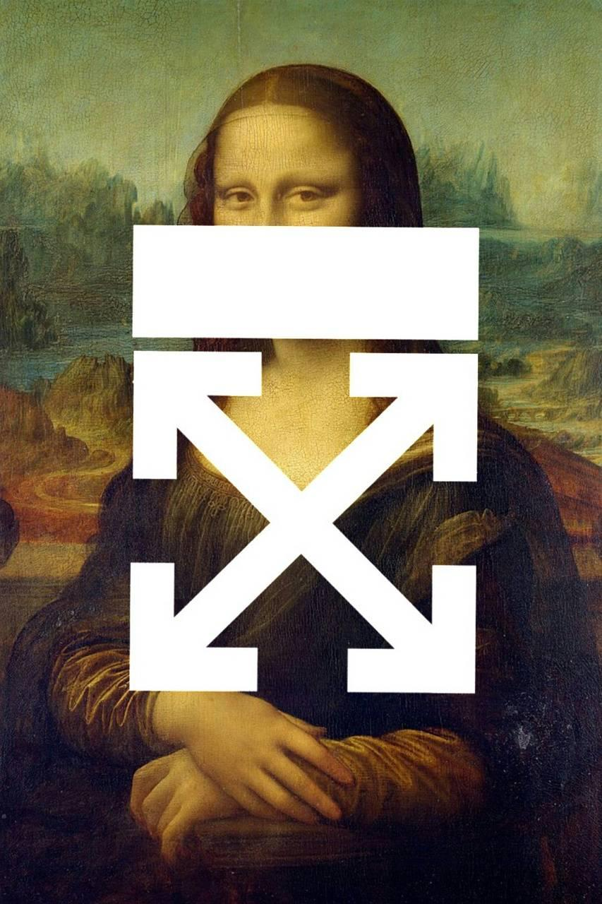 Off White Mona Lisa wallpapers by EnzoGaming