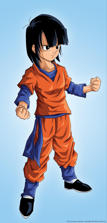 Dragon Ball (Pan, Kid Goku) - Minitokyo