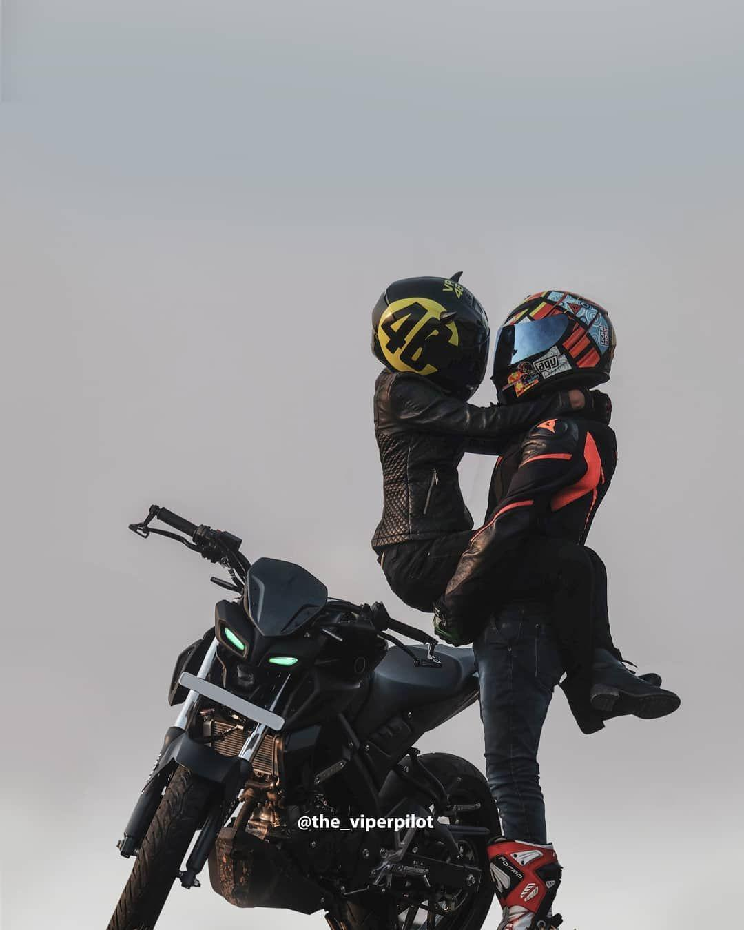 Rider Couple Wallpapers Wallpaper Cave