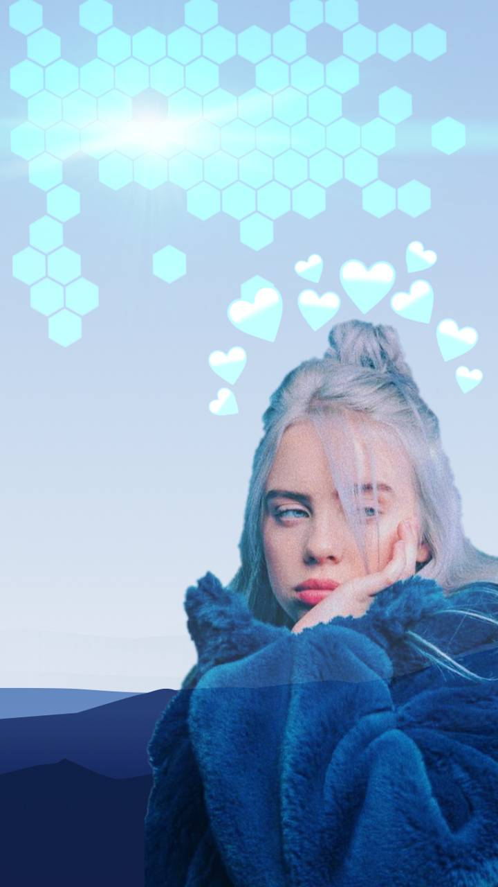 Billie Eilish Blue Wallpapers