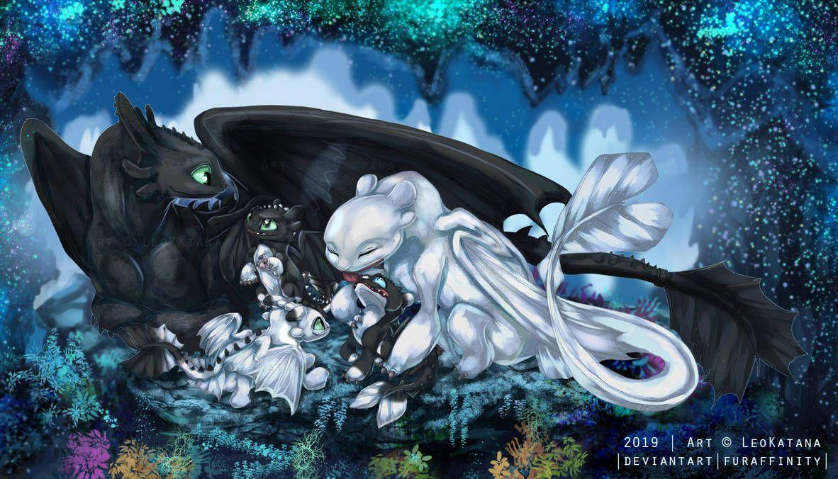 How To Train Your Dragon Night Light Wallpapers Wallpaper Cave