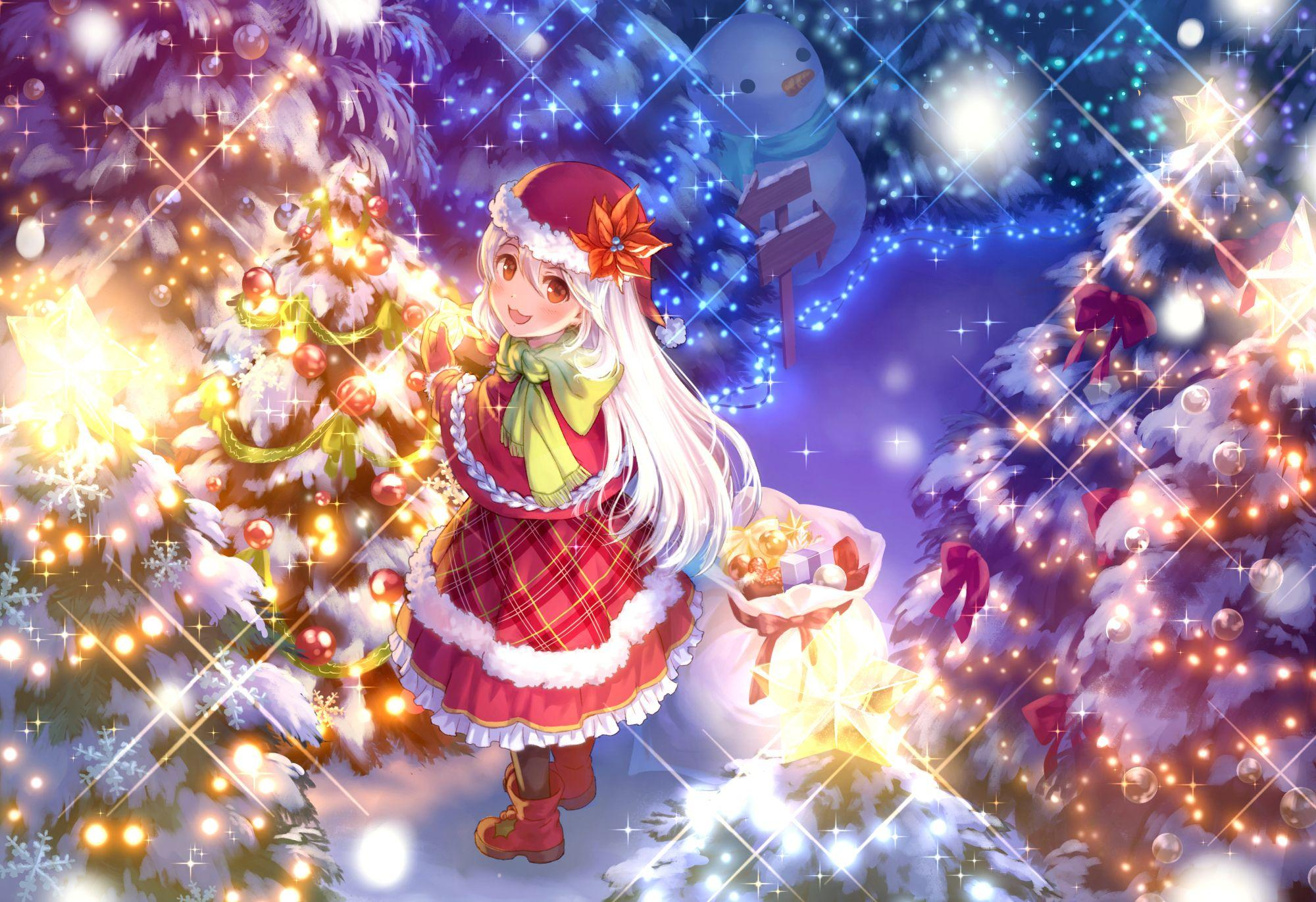Anime Christmas Ornaments Wallpapers - Wallpaper Cave