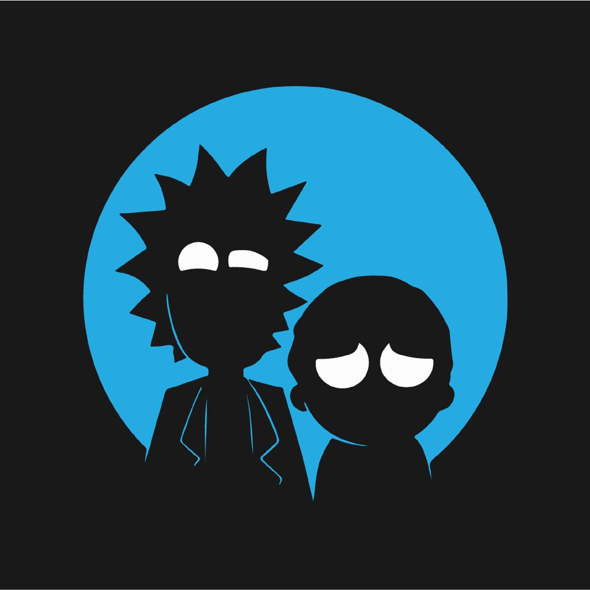 Minimal Rick And Morty Wallpapers Wallpaper Cave