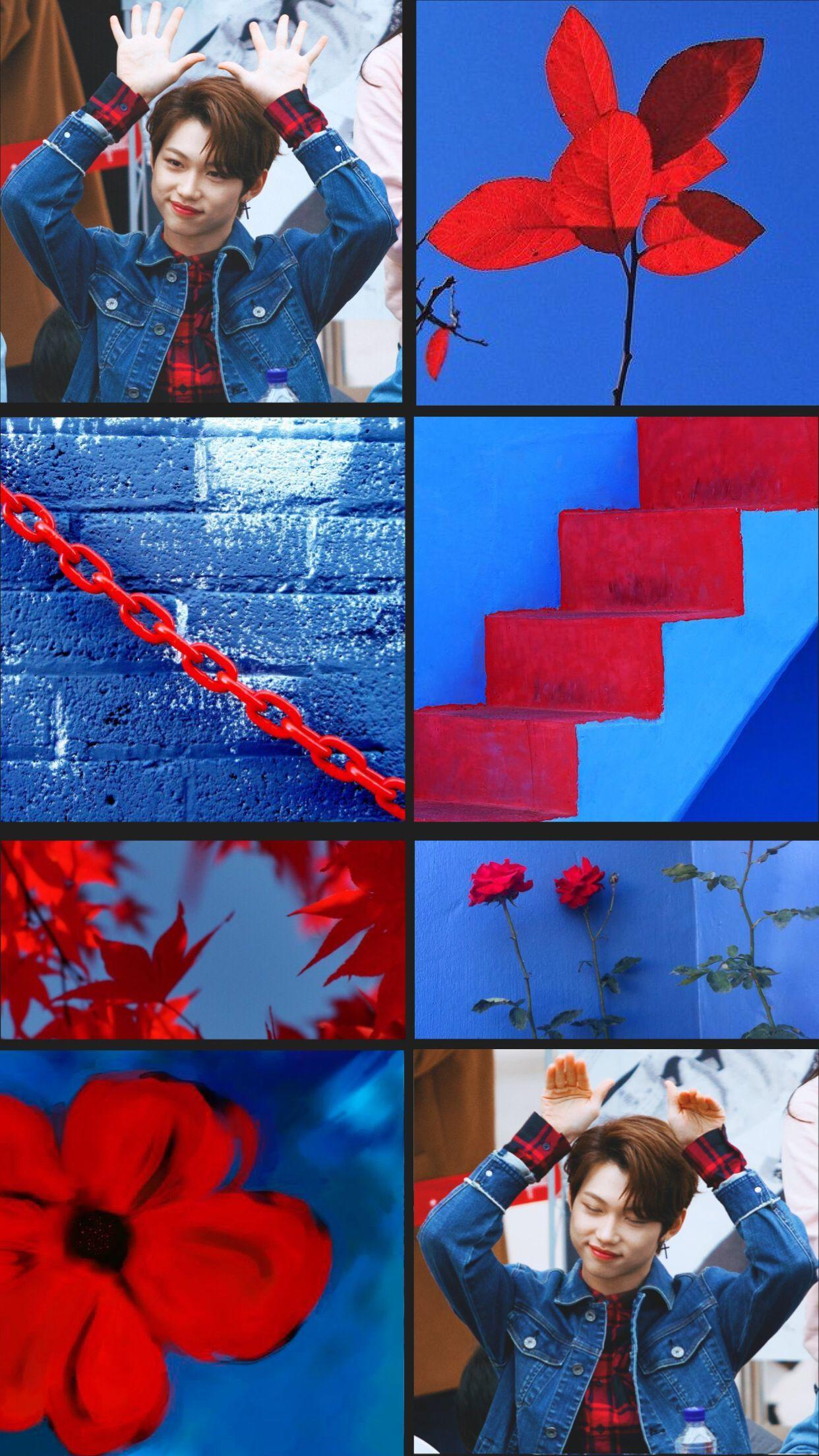 Red Blue Aesthetic Wallpapers