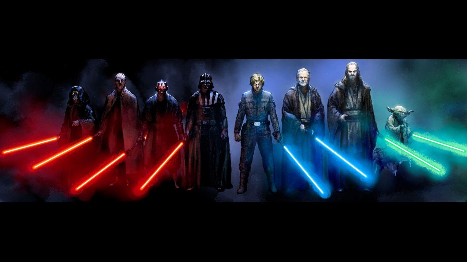 Anakin Skywalker Vs Count Dooku Wallpapers Wallpaper Cave