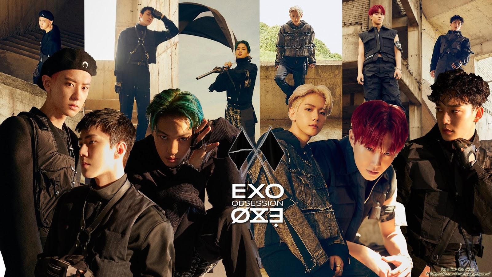 EXO OBSESSION Wallpapers - Wallpaper Cave