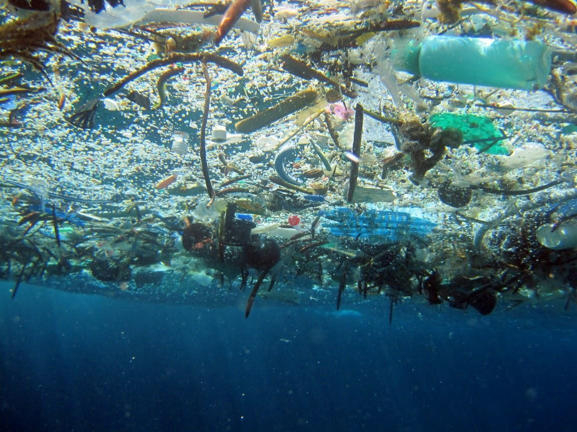 The 10 most insane image of plastic suffocating our oceans