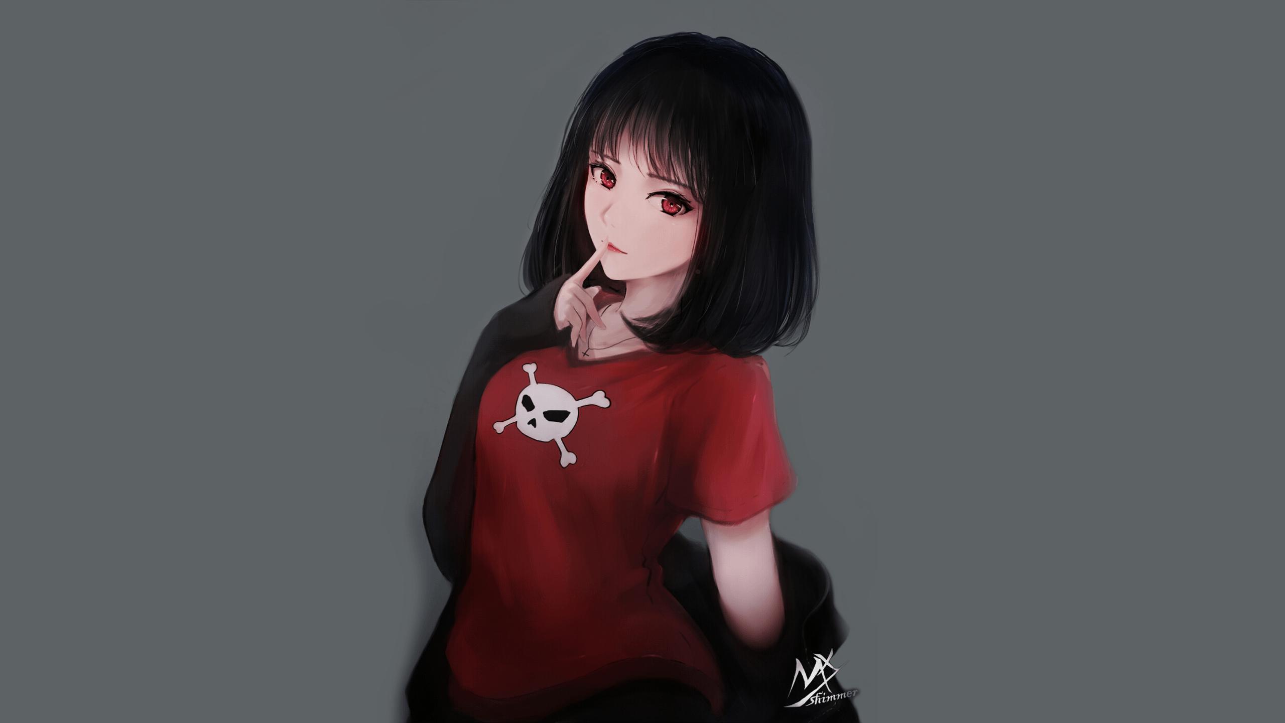 Anime Girl Short Hair Wallpapers - Wallpaper Cave