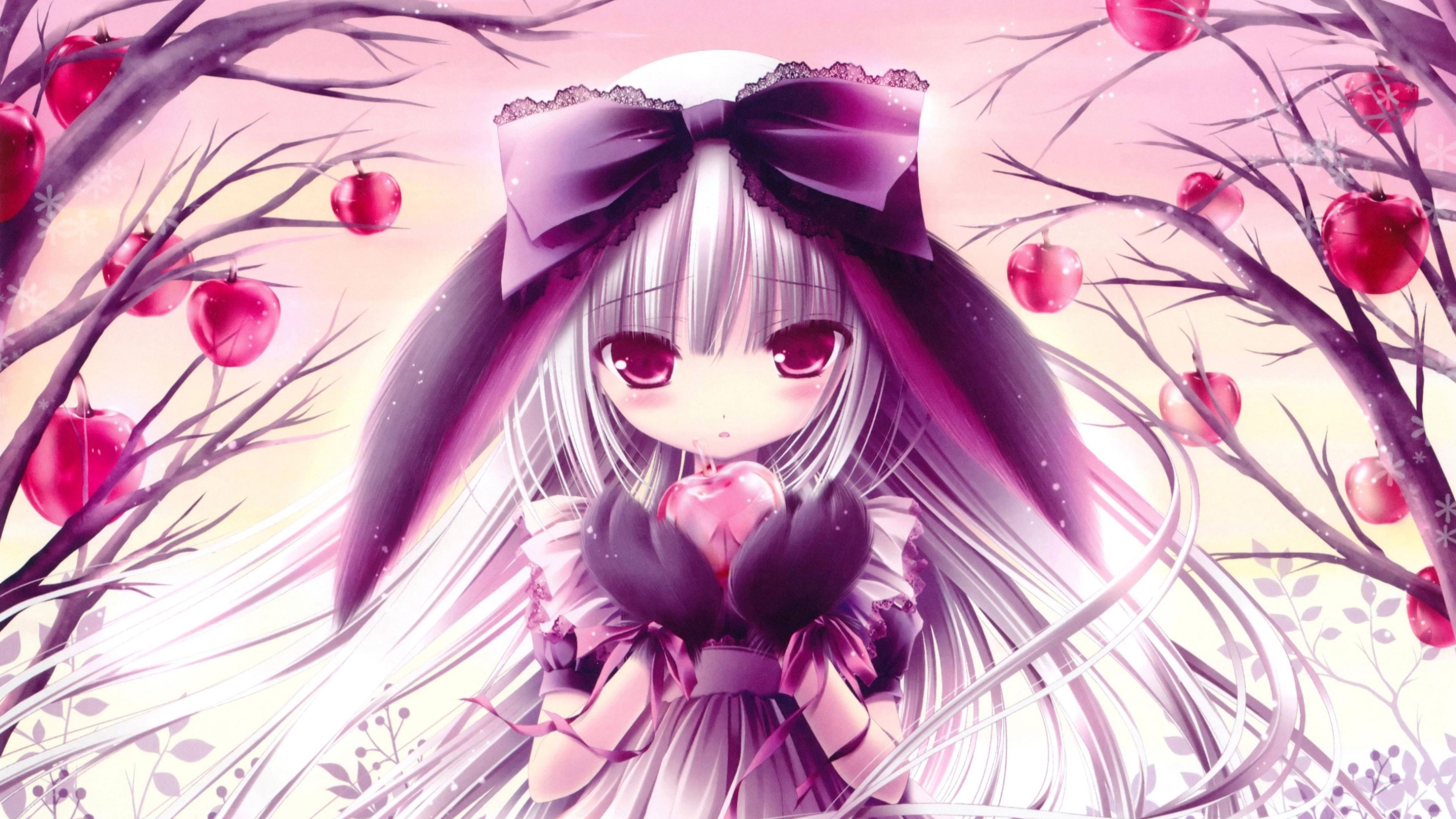 Pink Anime Desktop Wallpapers - Wallpaper Cave