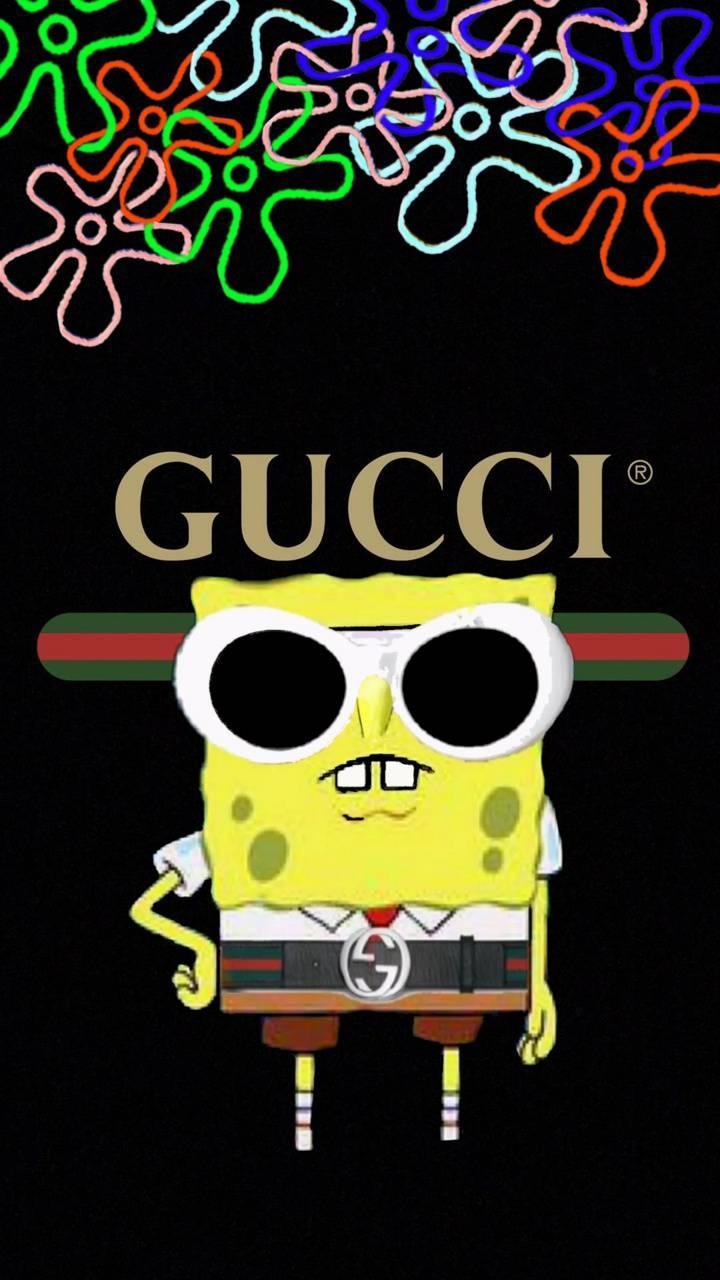 Gucci SpongeBob Wallpapers - Wallpaper Cave