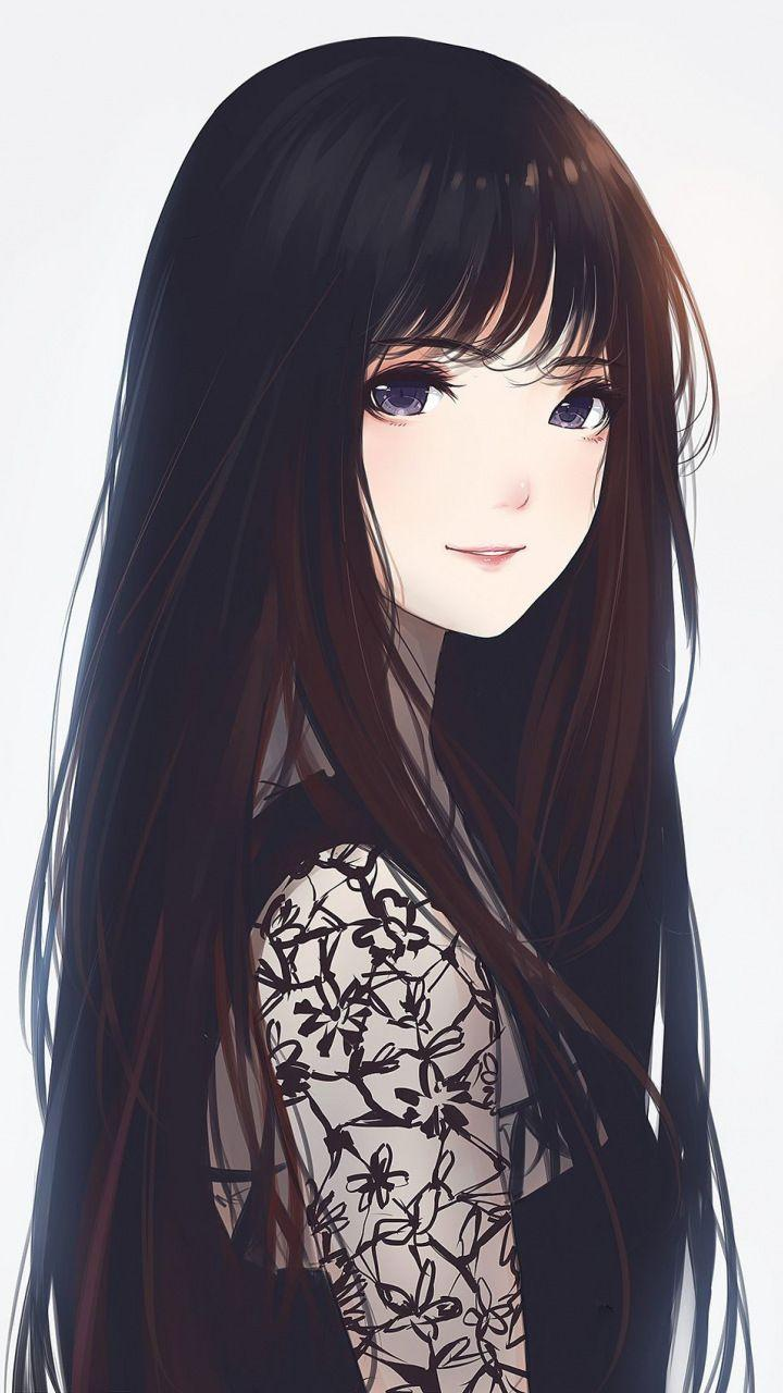 Anime Girl Long Hair Wallpapers - Wallpaper Cave