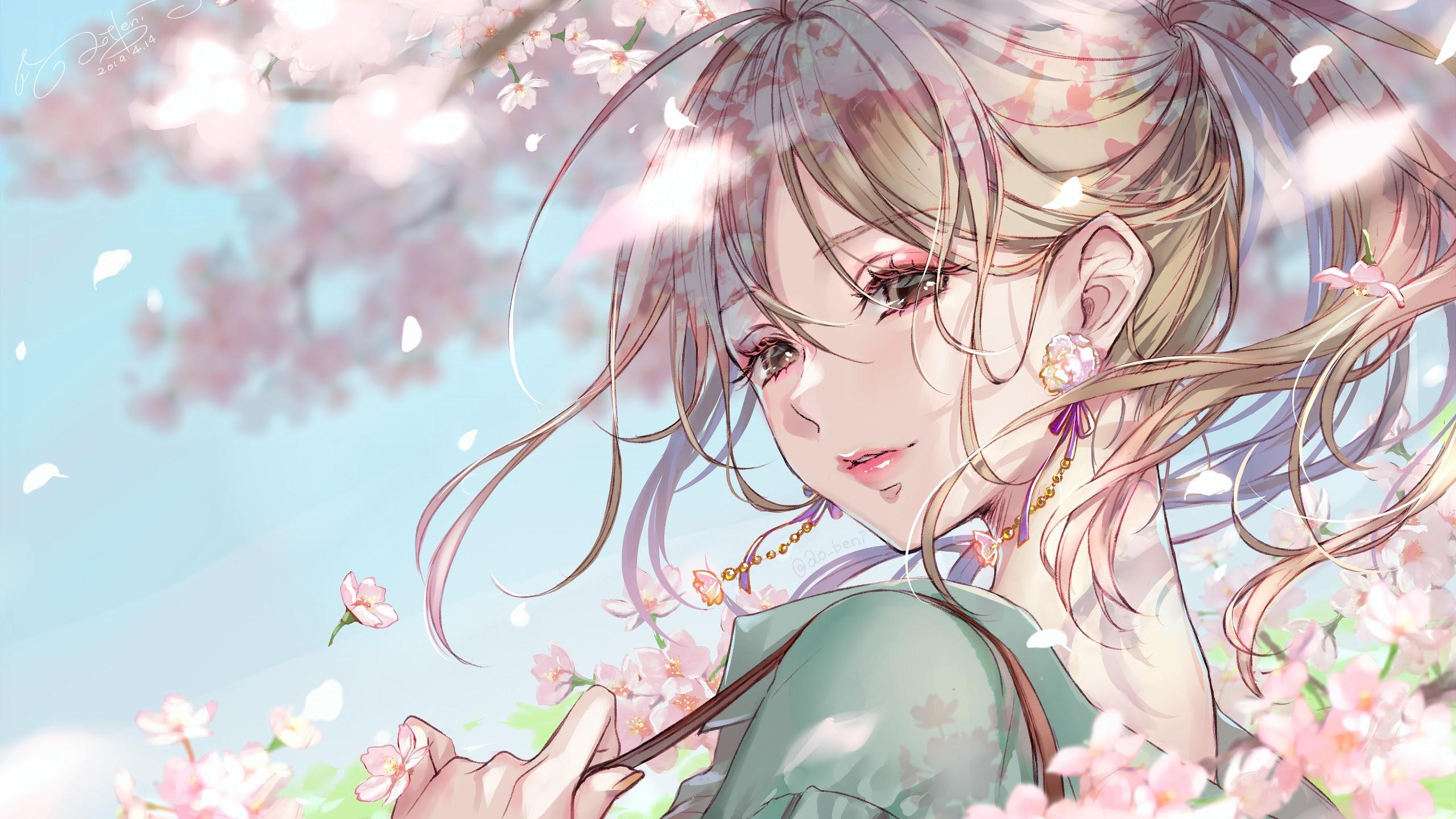 Beautiful Anime Girls Wallpapers Wallpaper Cave
