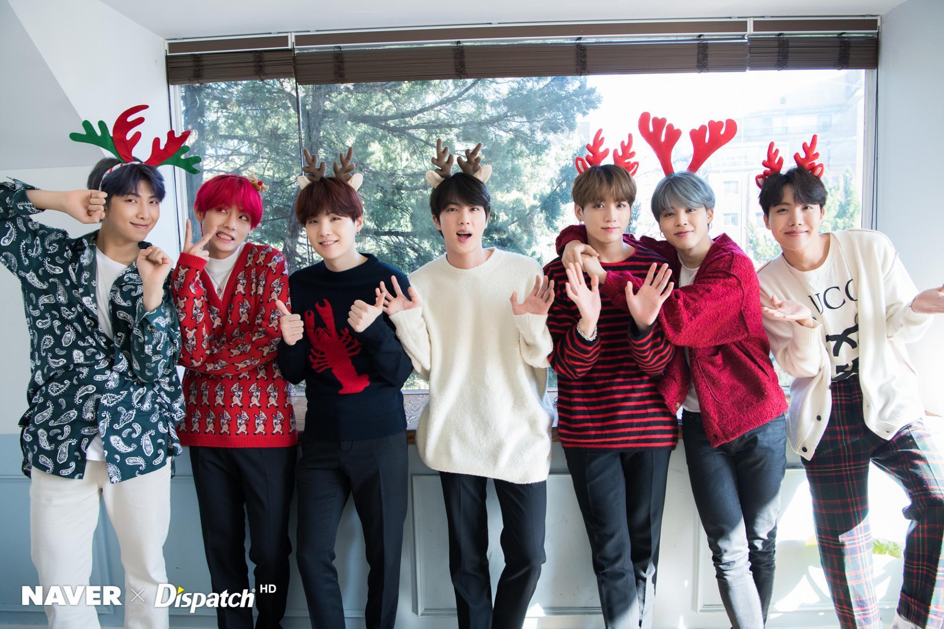 BTS Christmas Hd Wallpapers - Wallpaper Cave