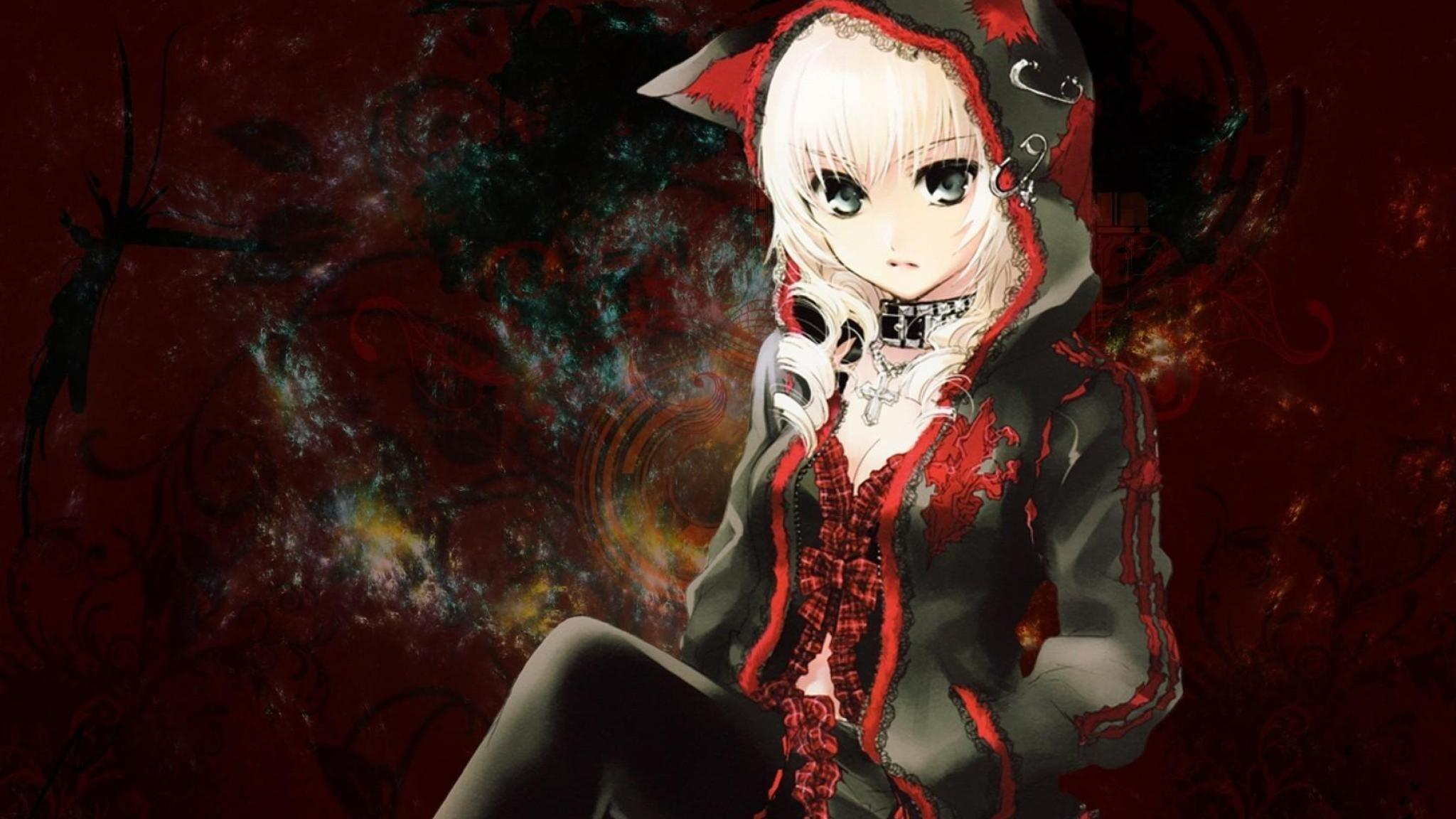 Cute But Creepy Anime Girl Wallpapers - Wallpaper Cave