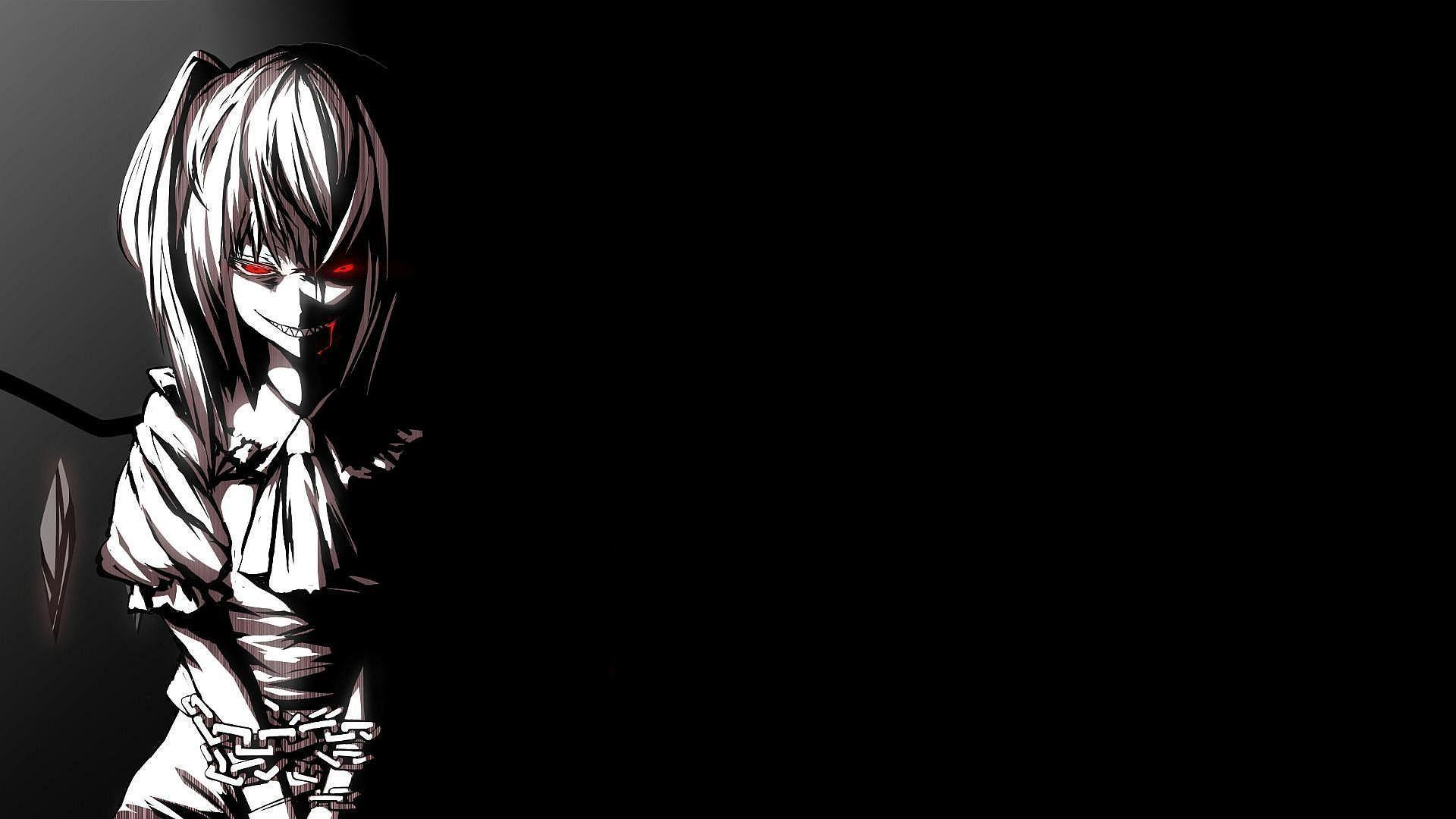 Black Anime Hd Wallpapers Wallpaper Cave