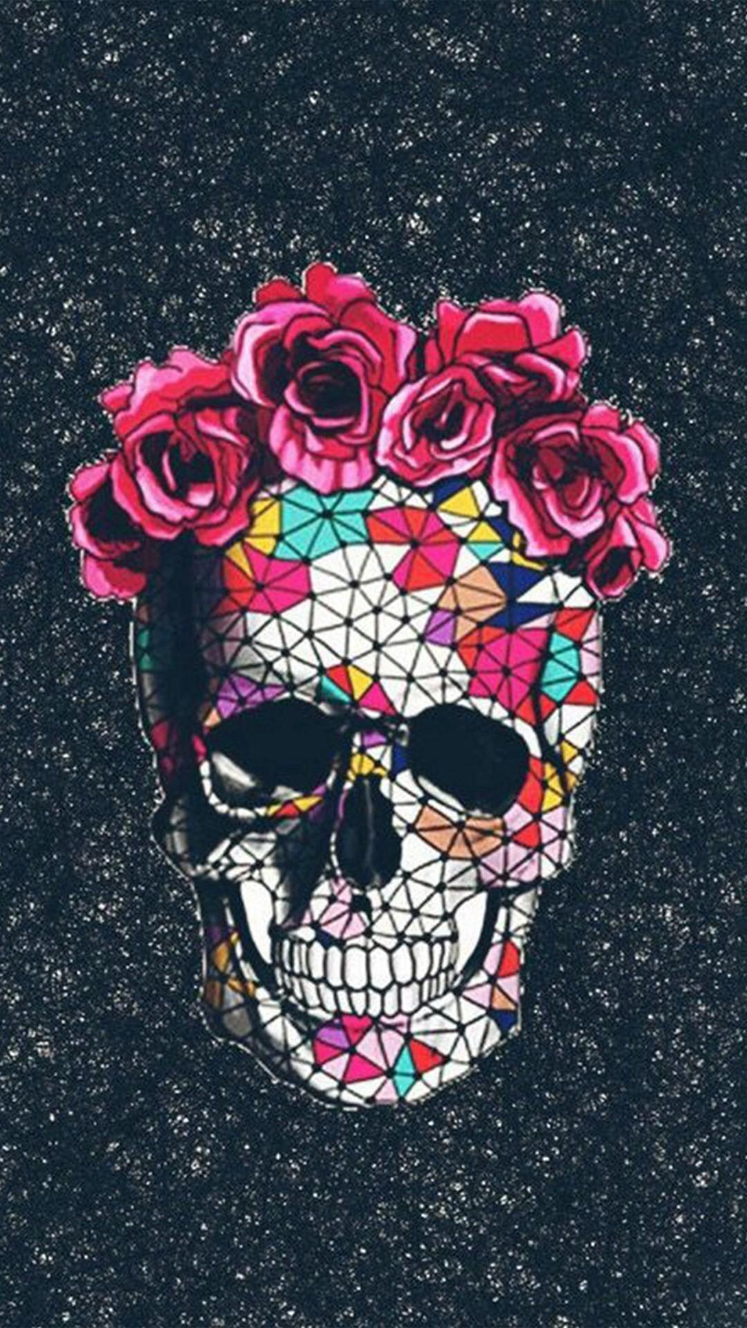 Sugar Skull Iphone X Wallpapers Wallpaper Cave