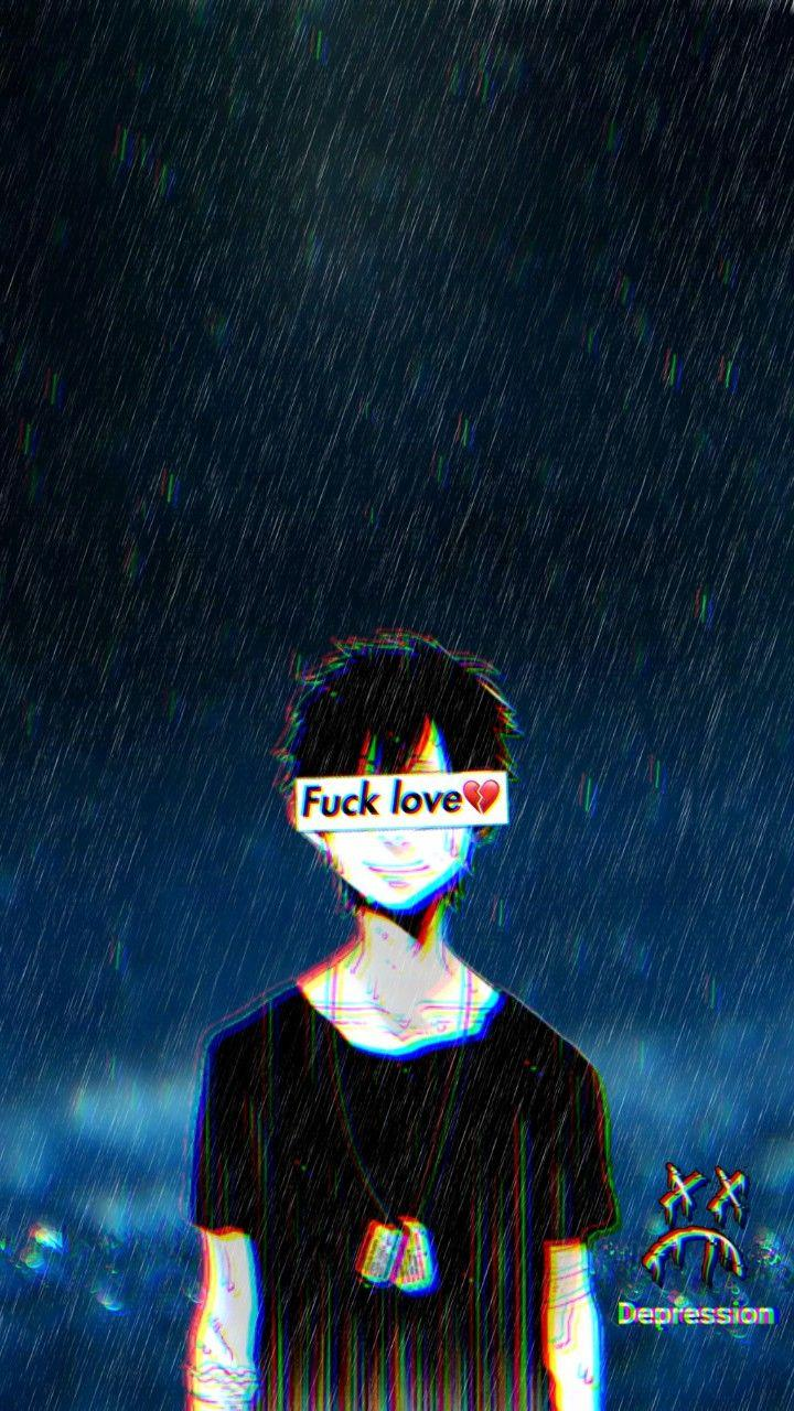 Depression Anime Pictures Guy Wallpapers Wallpaper Cave