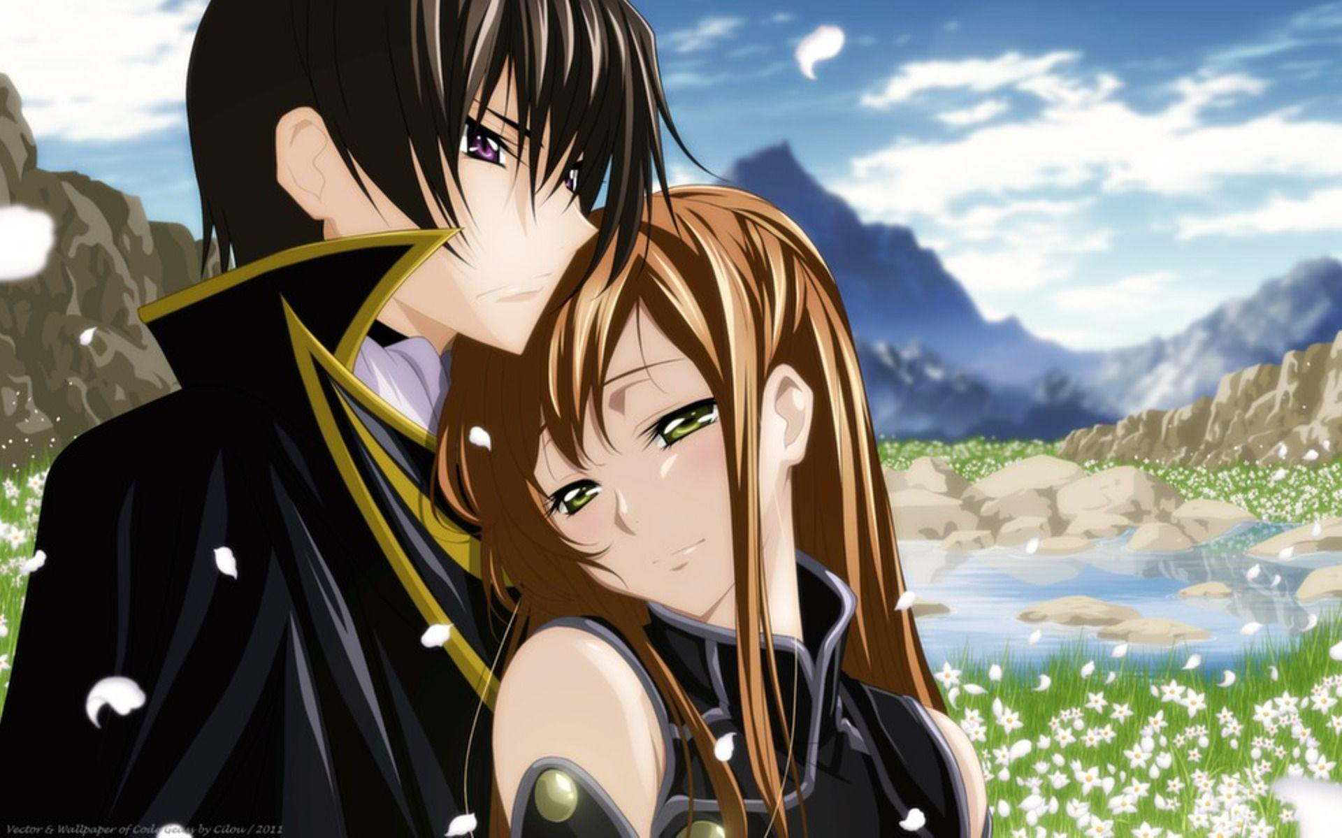 Emotional Romantic Anime Couple Wallpapers Wallpaper Cave