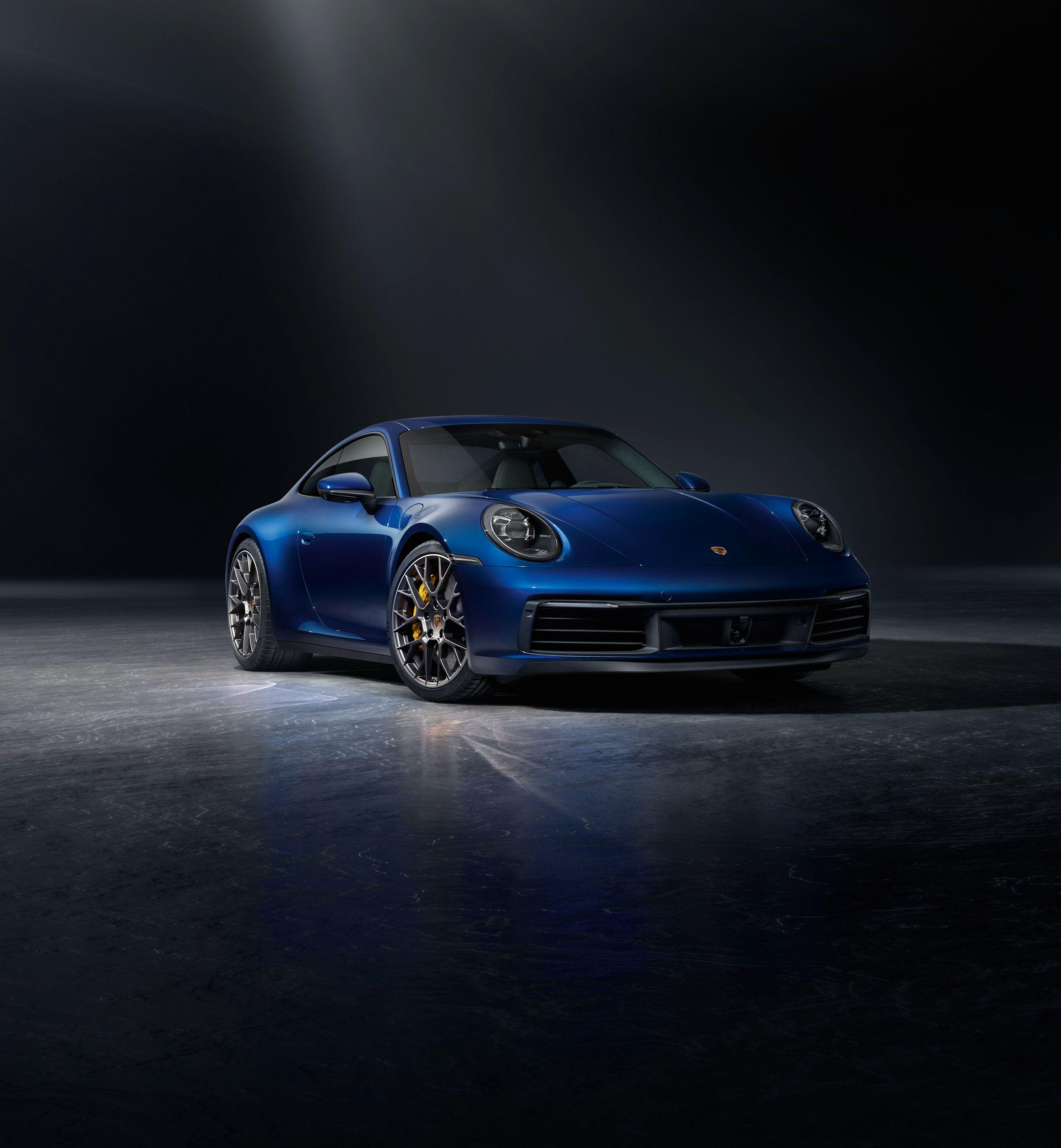 Porsche 911 Classic: Blue Porsche 911 Classic IPhone Wallpapers
