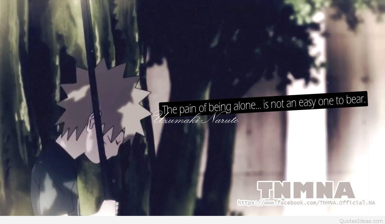 Anime Sad Quotes About Love