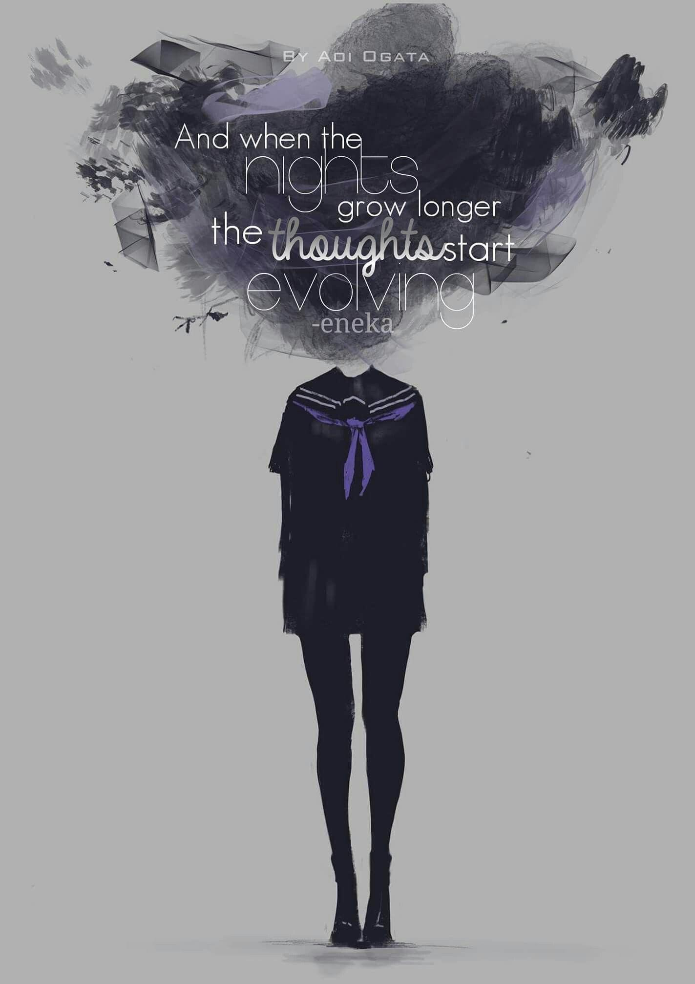 Sad Anime Quotes Wallpapers Wallpaper Cave