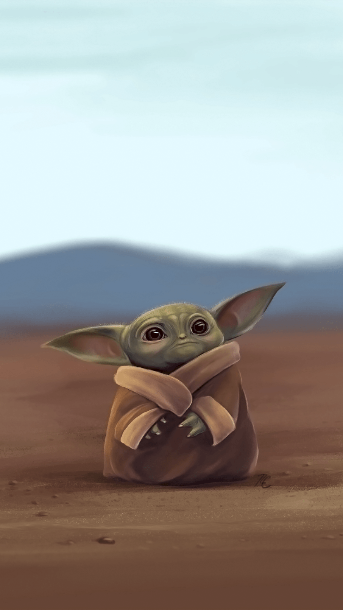 Baby Yoda Cute Wallpapers - Wallpaper Cave