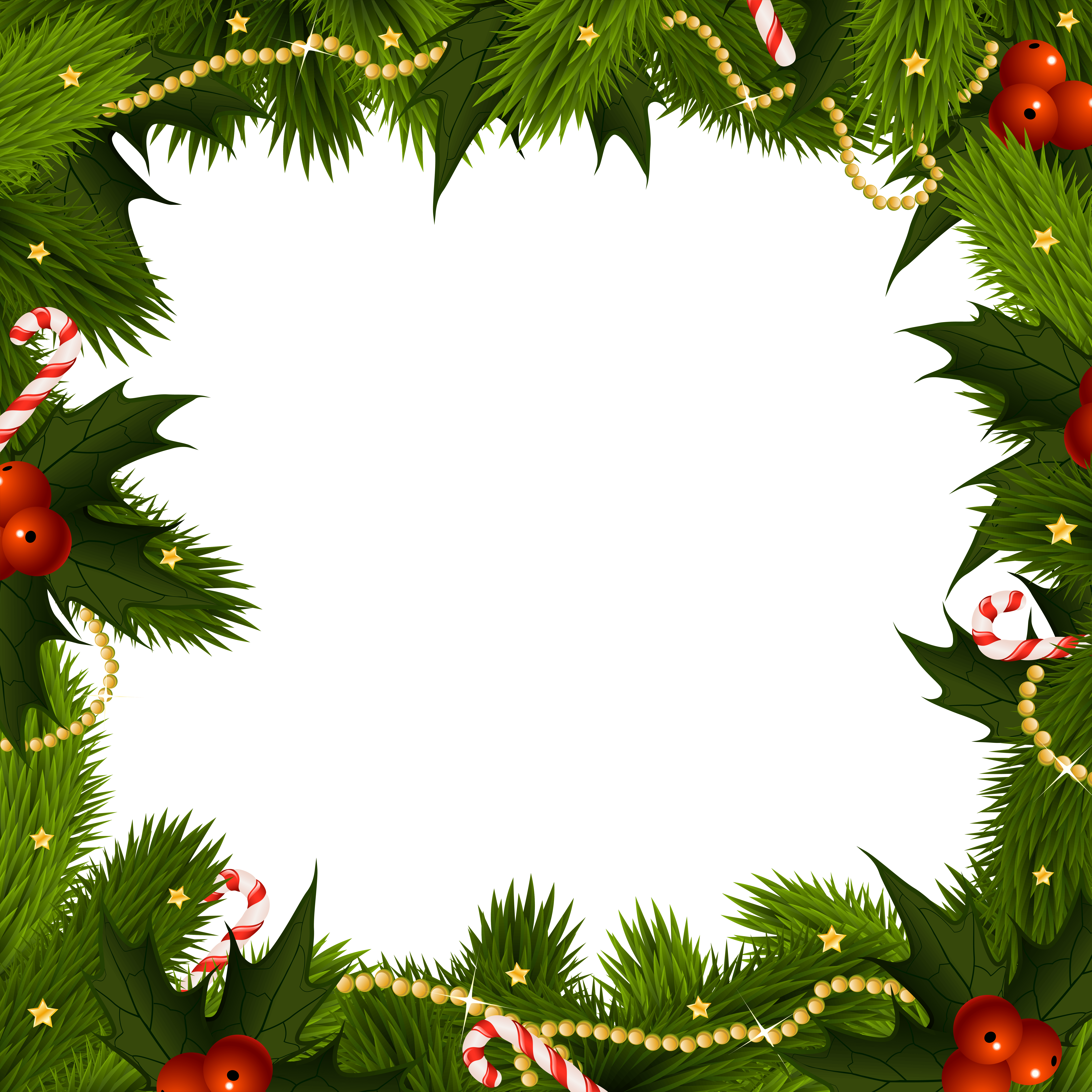 Christmas Border Wallpapers - Wallpaper Cave