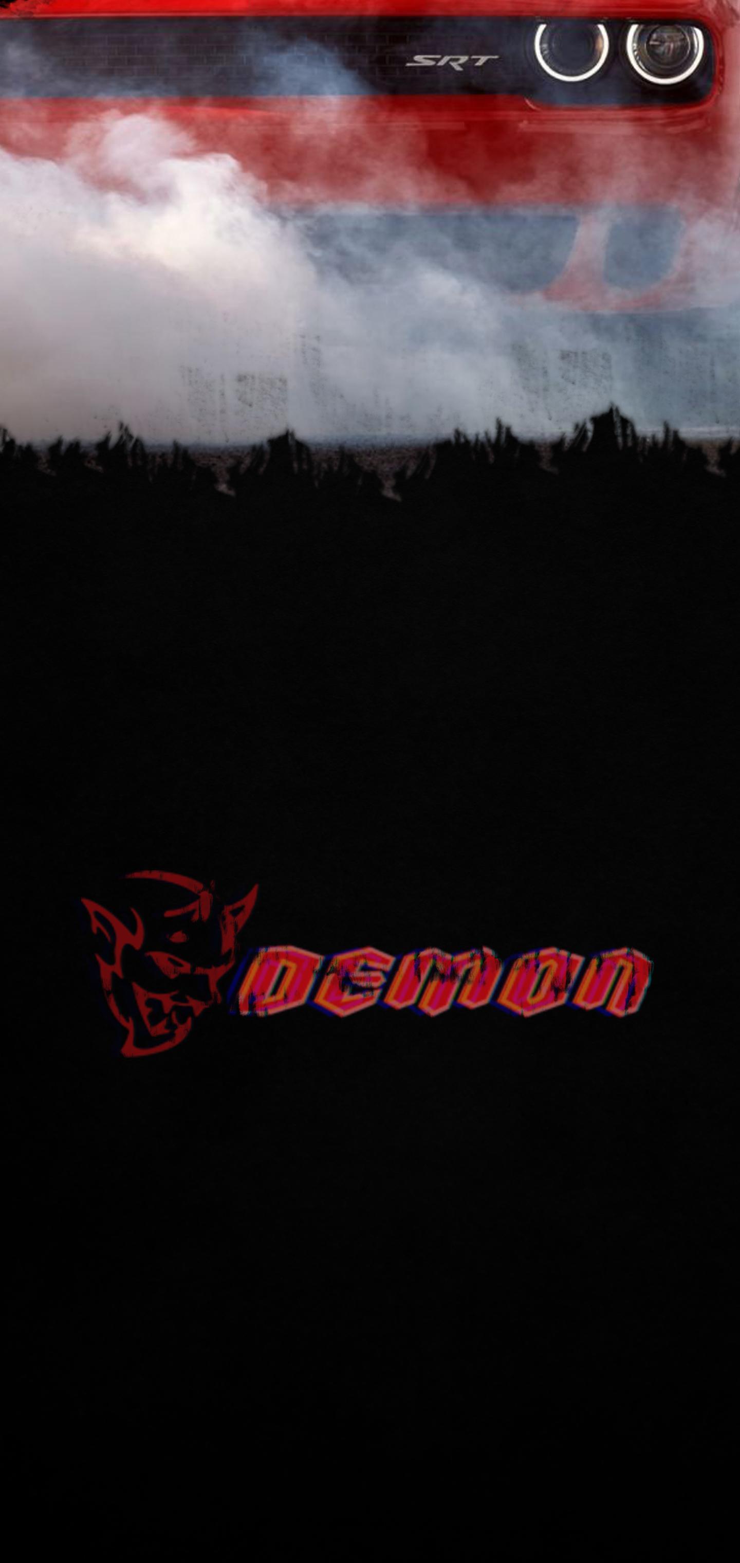 Dodge Demon Logo Wallpapers Wallpaper Cave