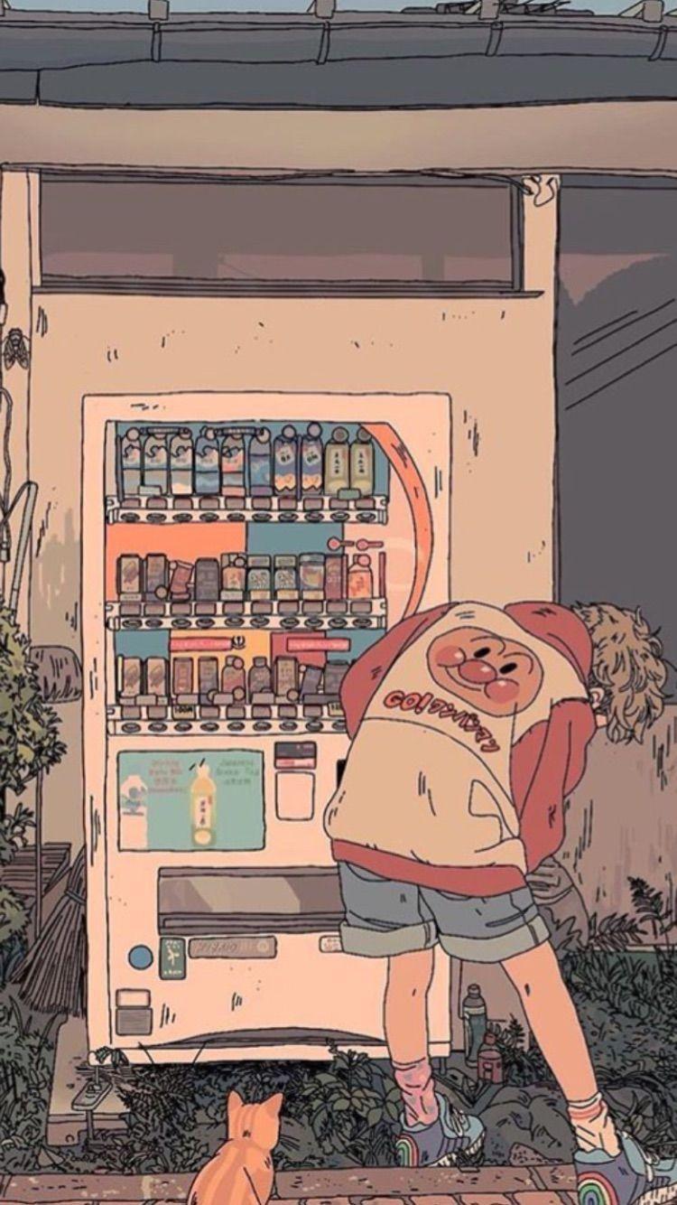Anime Wallpaper Hd Dark Retro Anime Aesthetic Wallpaper Desktop