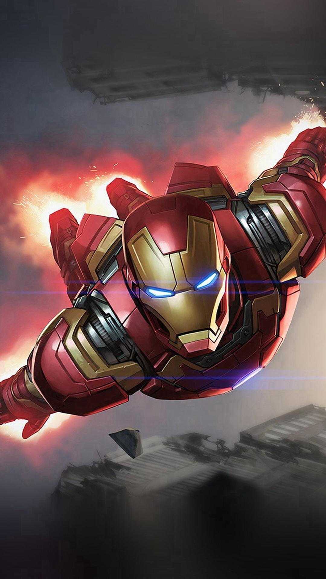 Iron Man Flying iPhone Wallpapers - Wallpaper Cave