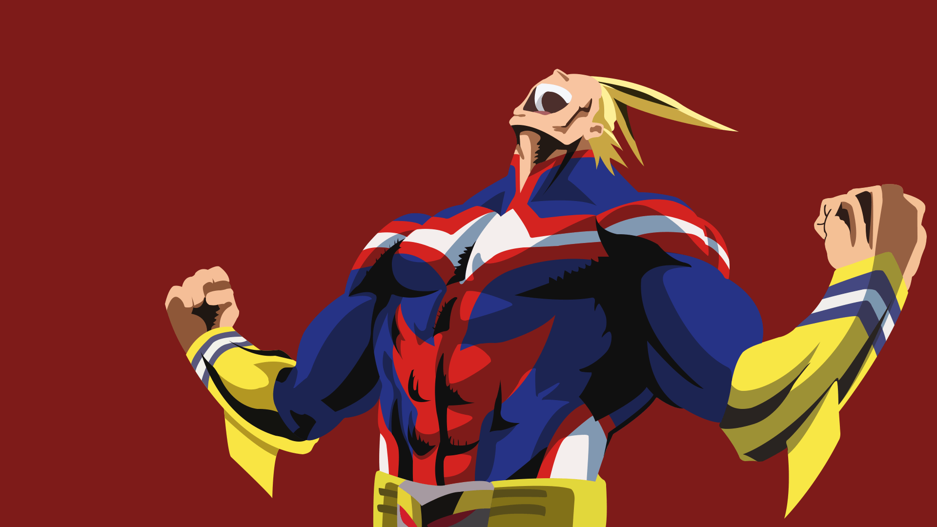 All Might from My Hero Academia Walpaper for Dekstop HD Wallpapers