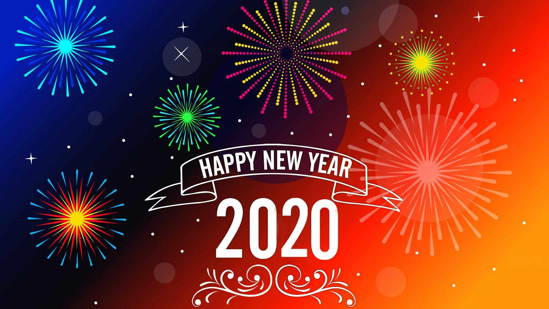 Happy New Year 2020 Hd Wallpapers - Wallpaper Cave