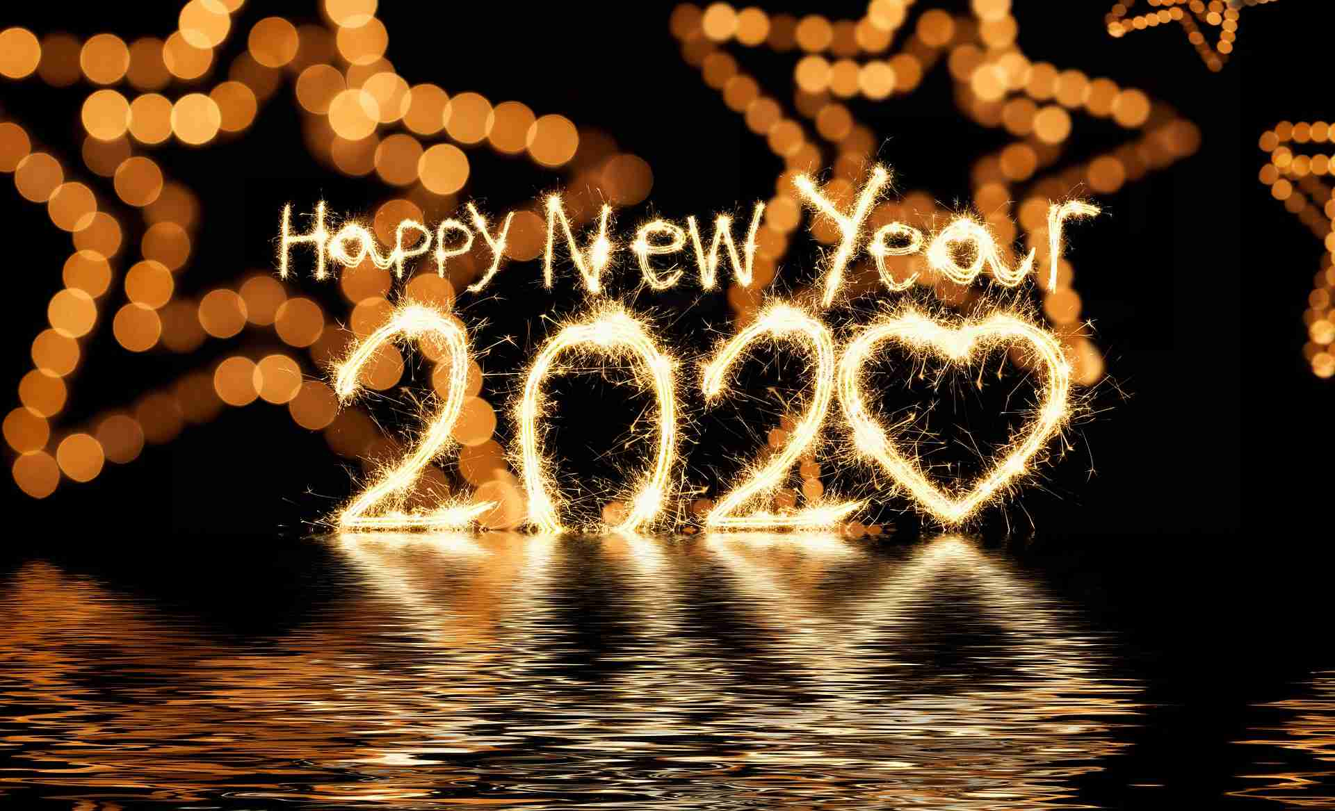 Happy New Year S Eve Countdown Clock 2020 Wallpapers