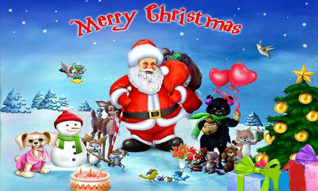 Happy Christmas Day Hd Wallpapers Wallpaper Cave